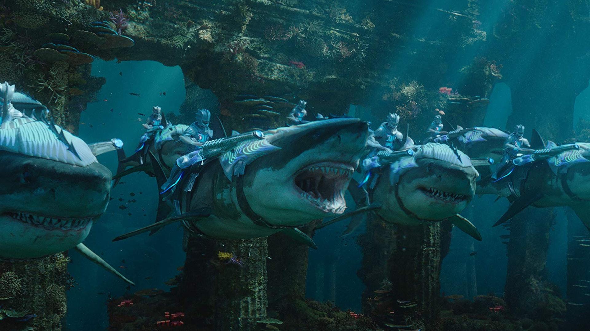《水行俠》打造出令人嘆為觀止的海底世界。