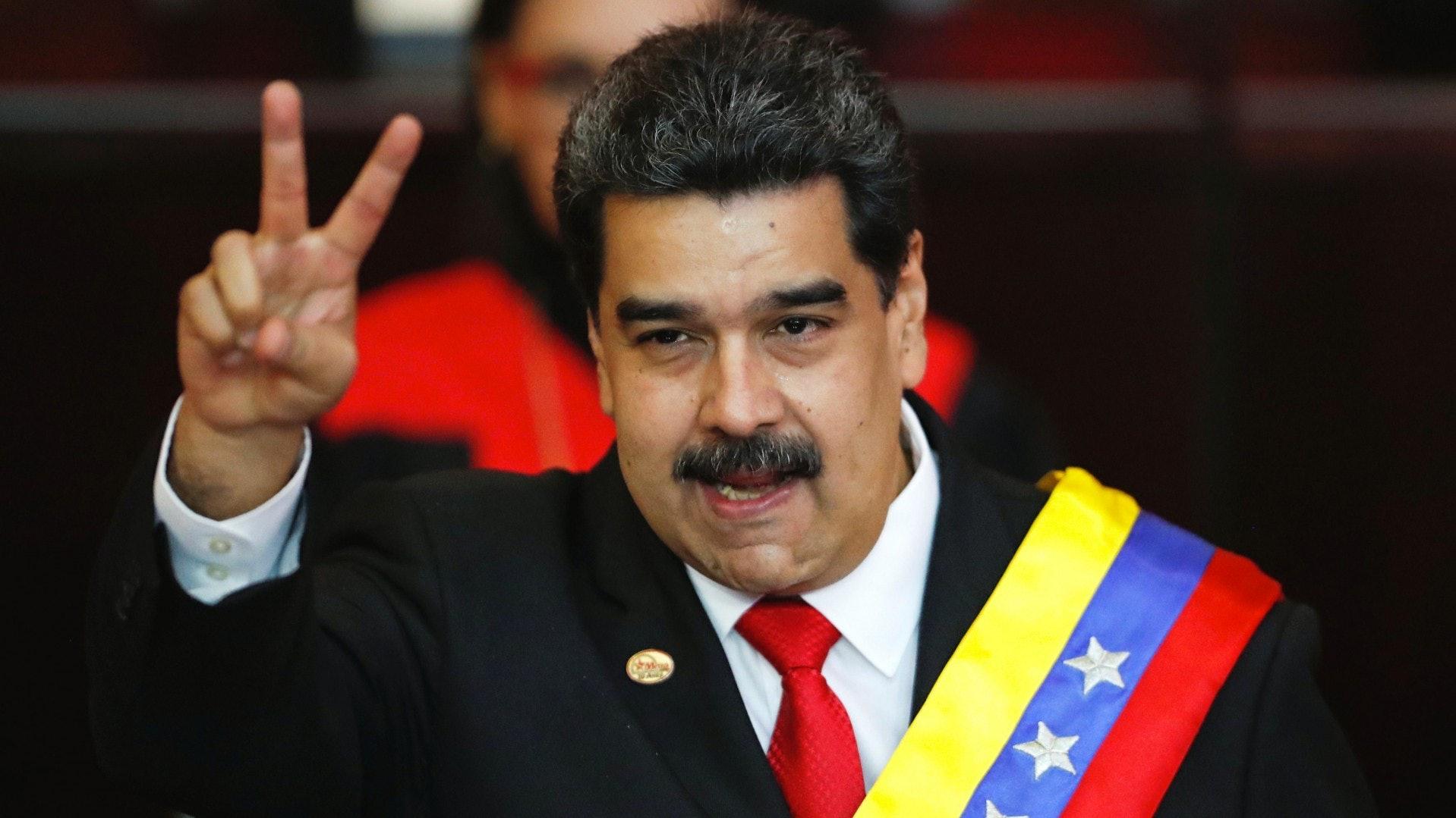 馬杜羅續任委內瑞拉總統遭抵制6年新任期難解內憂外患|香港01|即時國際