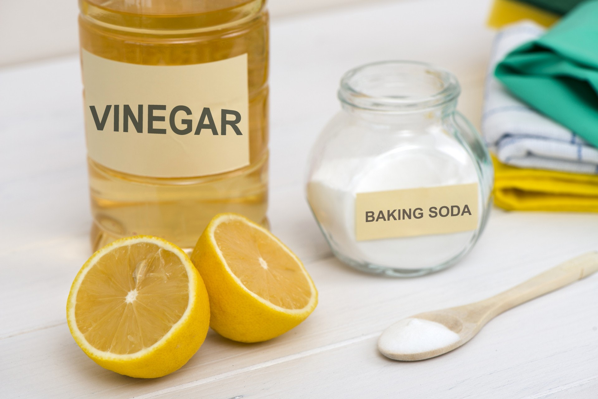 簡單的配搭,便能製作出實用的清潔劑。(Getty Image)