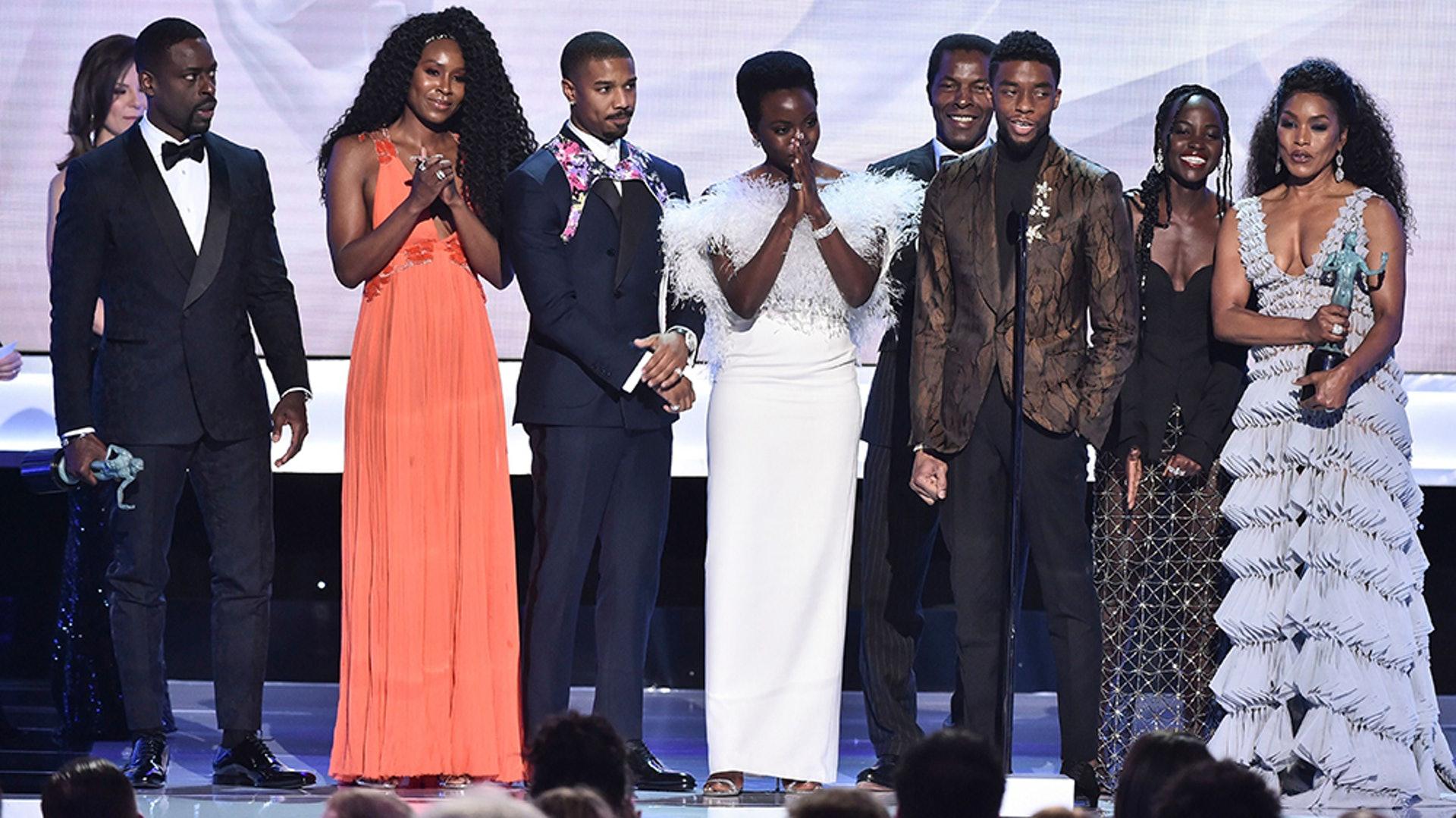 《黑豹》日前在第 25 屆美國演員工會獎連奪兩大獎項。