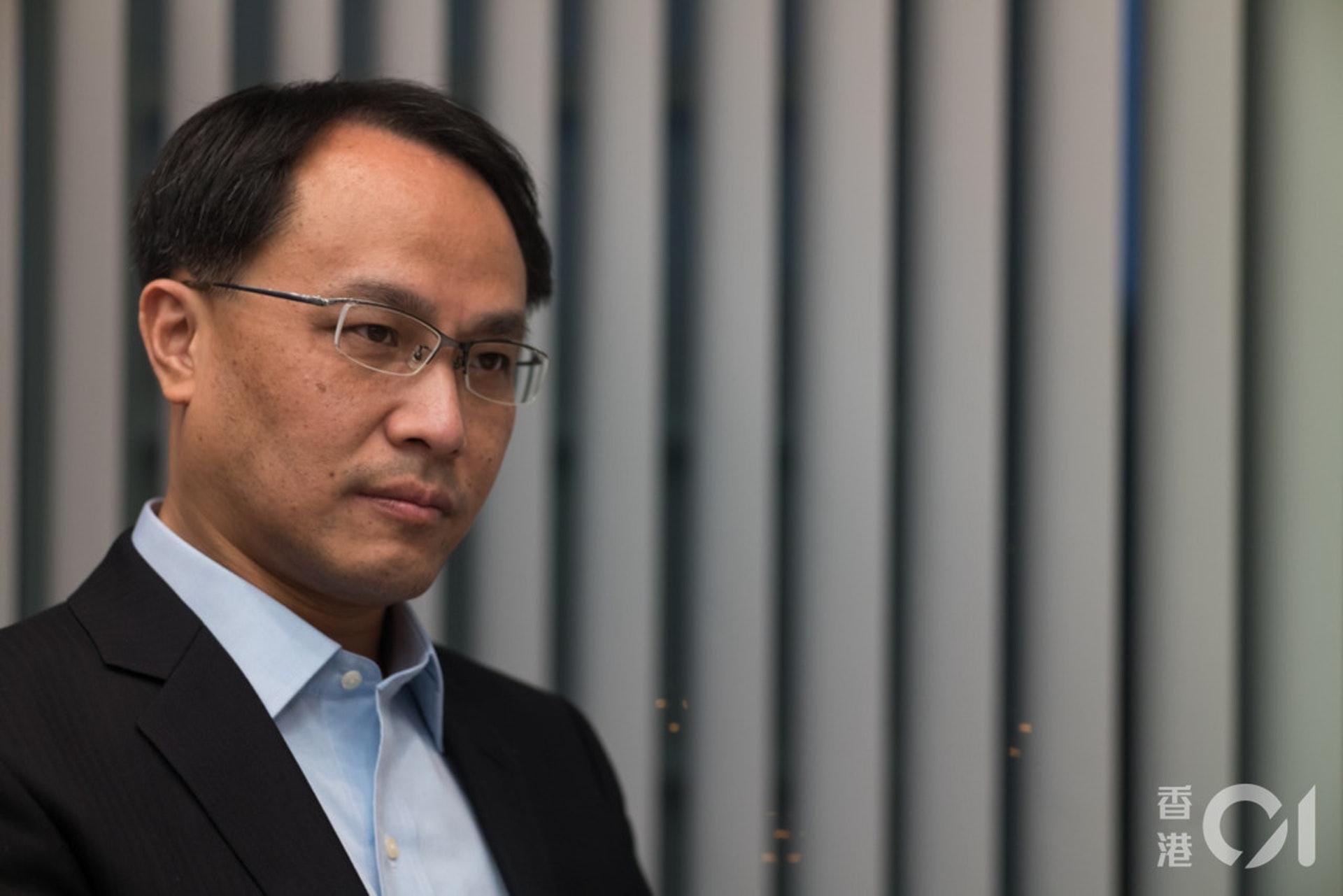 李兆波直言,未來市場風險在於國安法如何導致資金外流,以及香港再被調低評級。。(資料圖片)