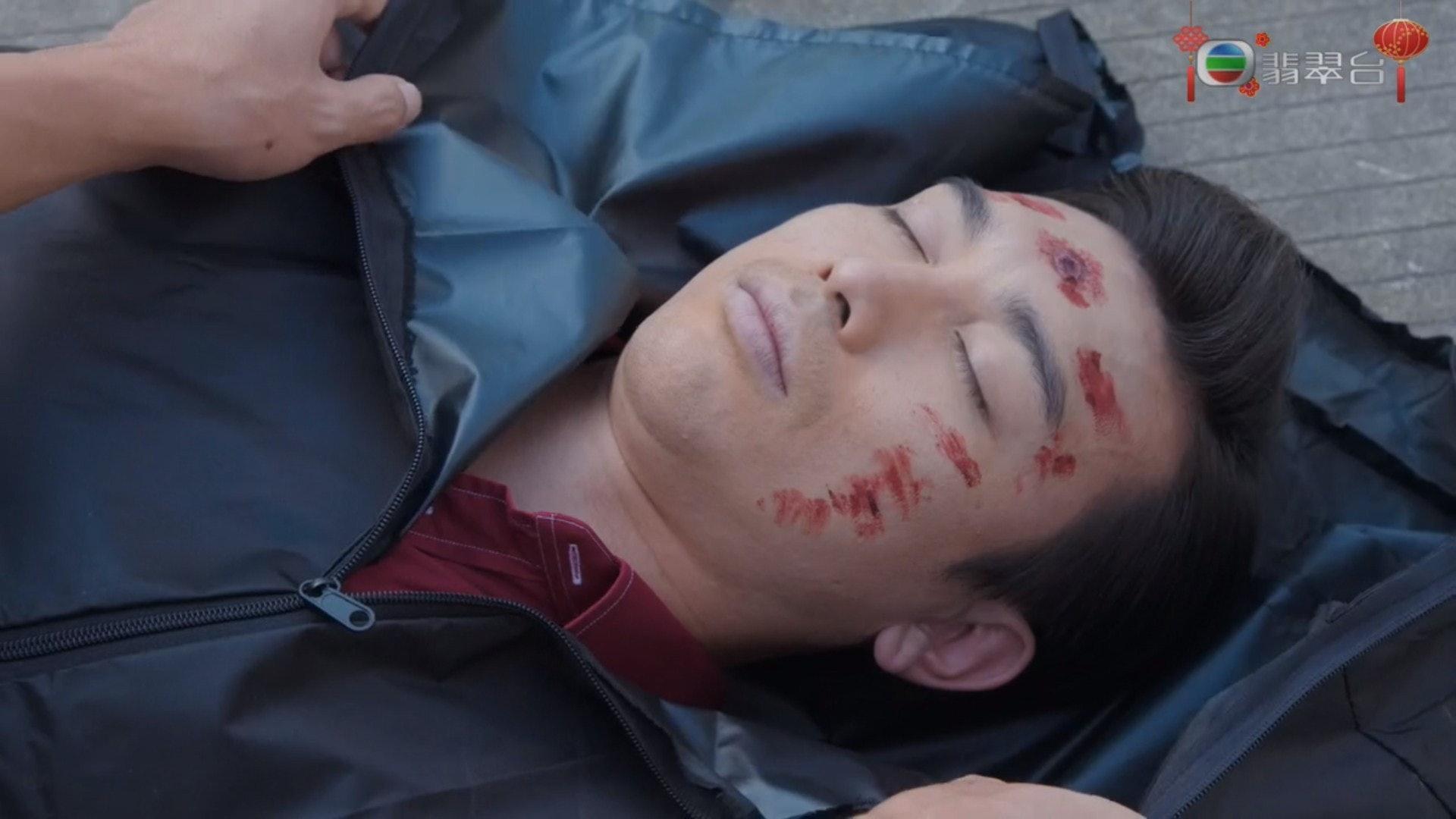 吳雲甫突然「退場」,大家才驚覺他已離開TVB兩年,今次是以自由身參與劇集。(電視截圖)