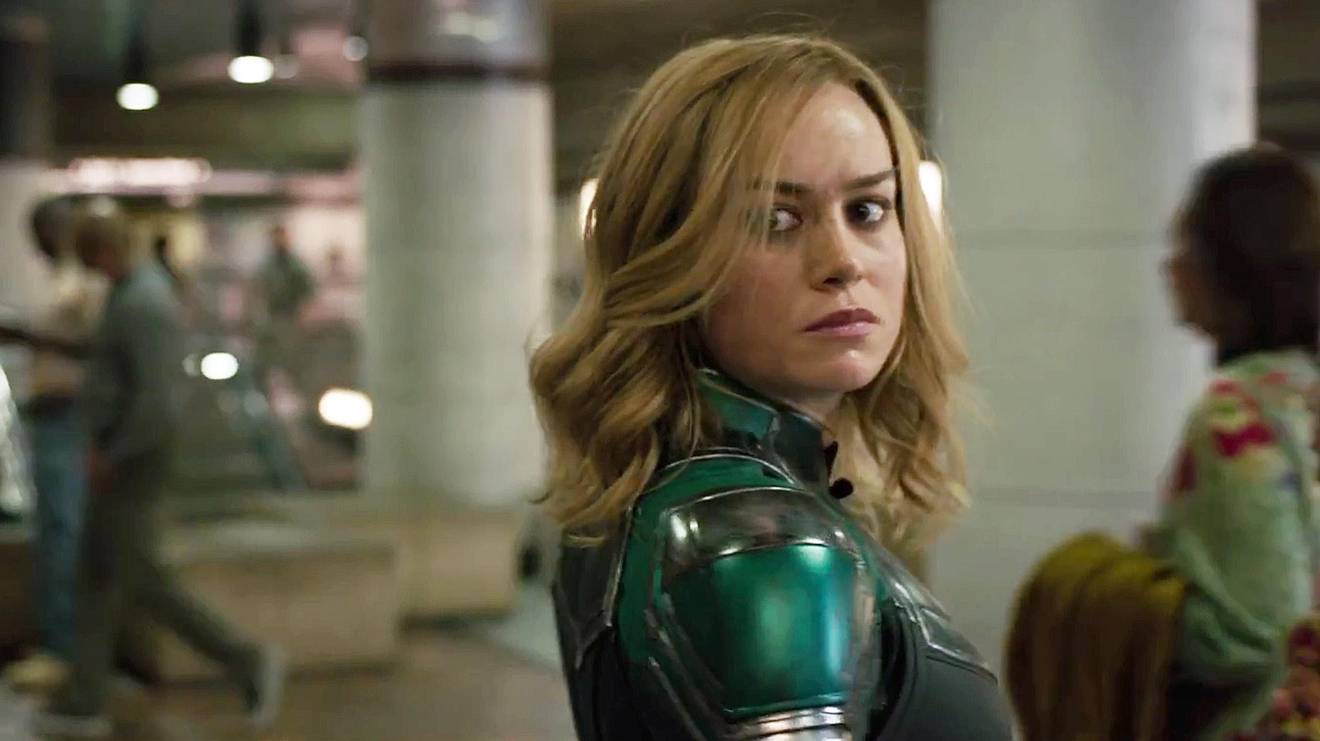 《驚奇隊長》由 Brie Larson擔任女主角。這位Captain Marvel,戲裹戲外,都大有來頭。(《Captain Marvel》劇照)