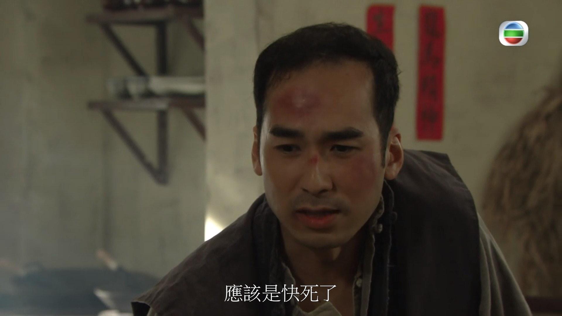 趙樂賢在劇中是阿Ben的好兄弟。(電視截圖)