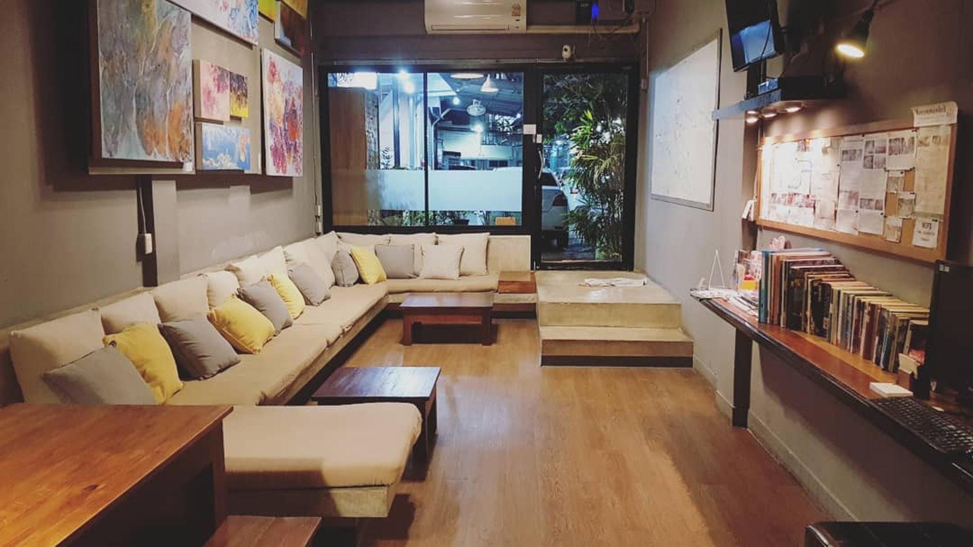 箱內背包客旅館 (In a Box Hostel)-公共空間超正的曼谷住宿(Instagram@arthur986)