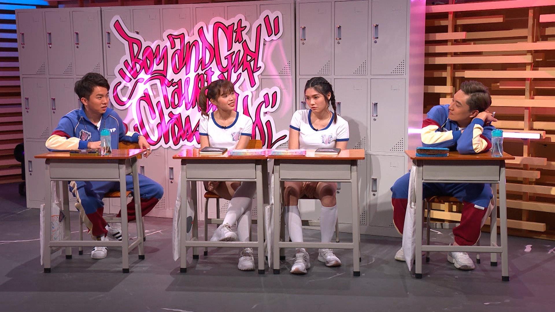 ViuTV節目《晚吹:女學生‧吹水班》圍繞校園和青春的主題,自由傾談和分享讀書時期所發生的事情,重溫校園生活的美好時光。