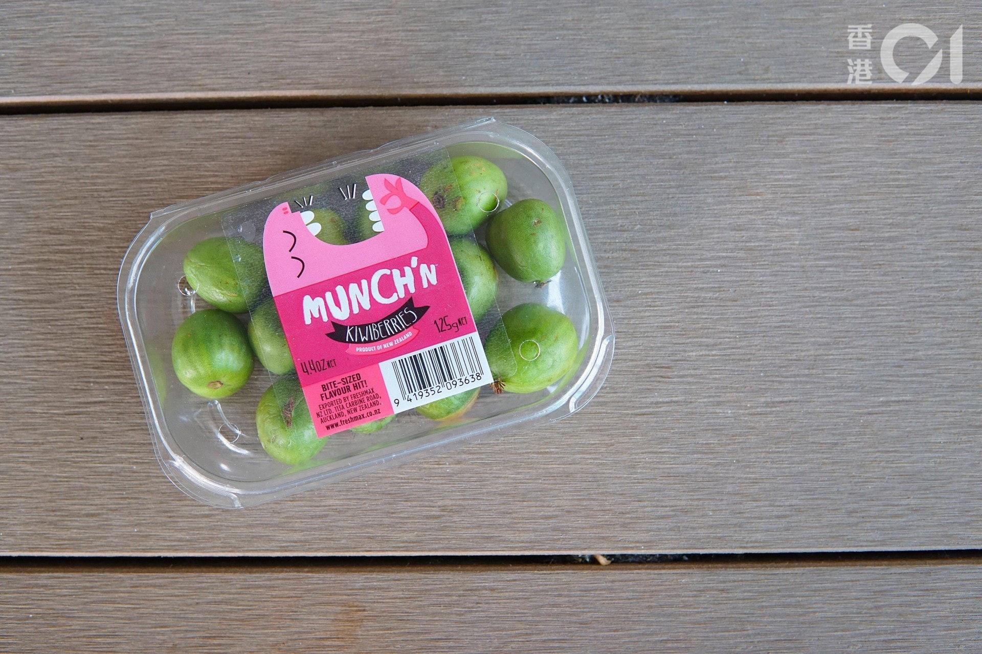 今次買到的是這一款奇異莓,產地為紐西蘭。