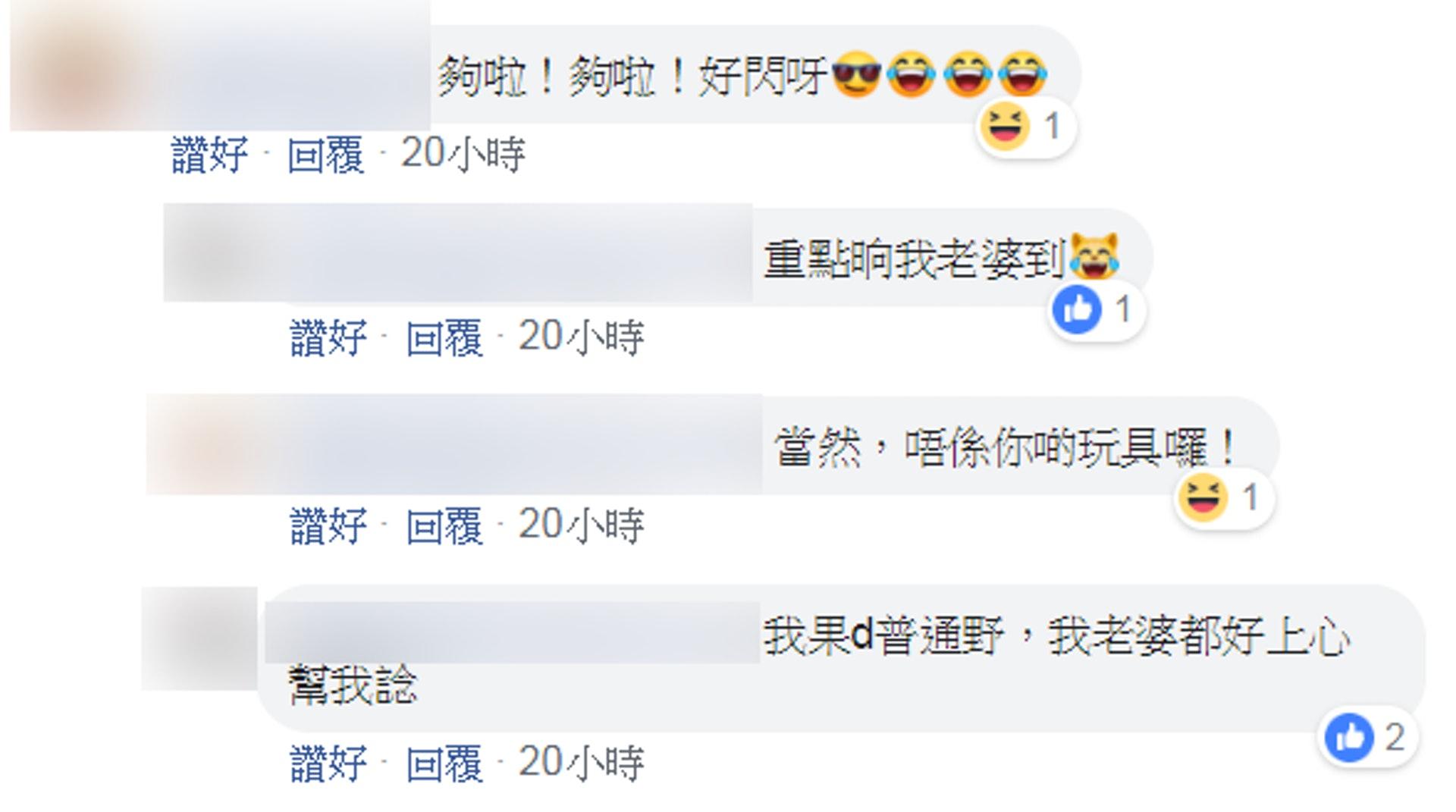 李先生稱妻子對裝修一事十上心。(fb群組「今日一入玩具報價區」)