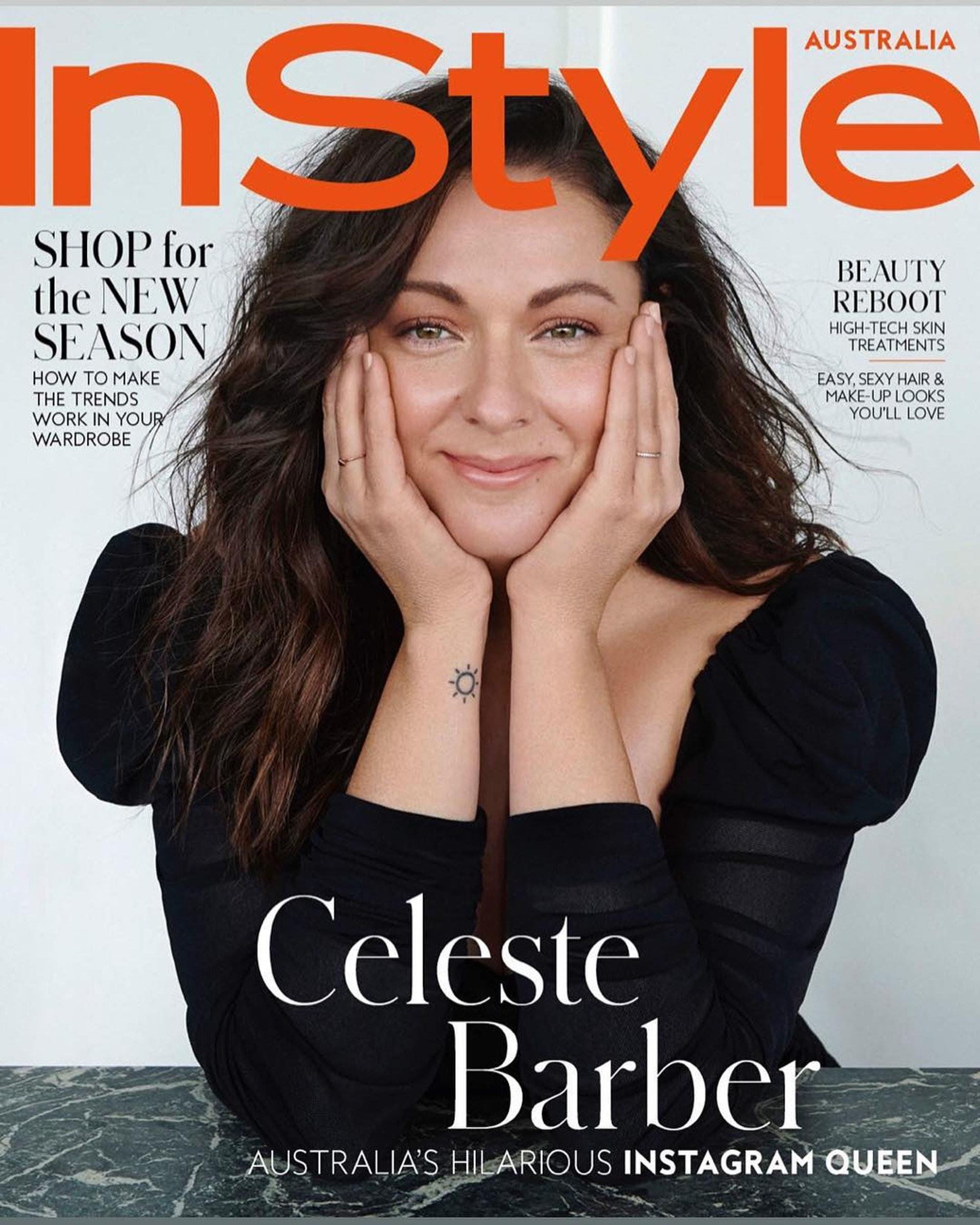 其實,不搞怪時的Celeste也非常美麗優雅。(IG圖片)