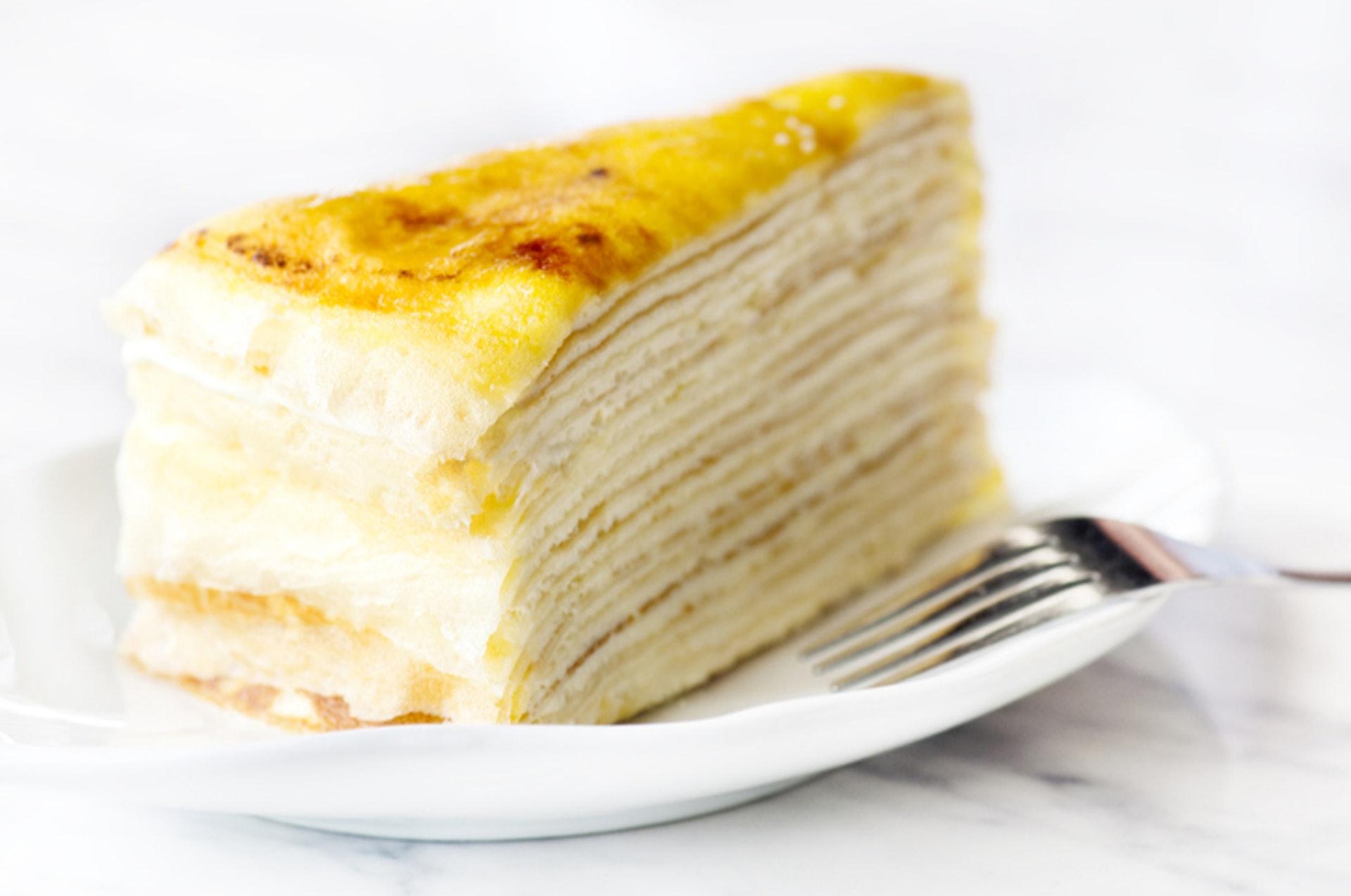 3.【忌廉千層蛋糕】 千層蛋糕每一層都有忌廉,加上班戟皮用油煎過,含較高飽和脂肪,經常食用會增加患上心血管疾病的風險。(GettyImages/VCG)