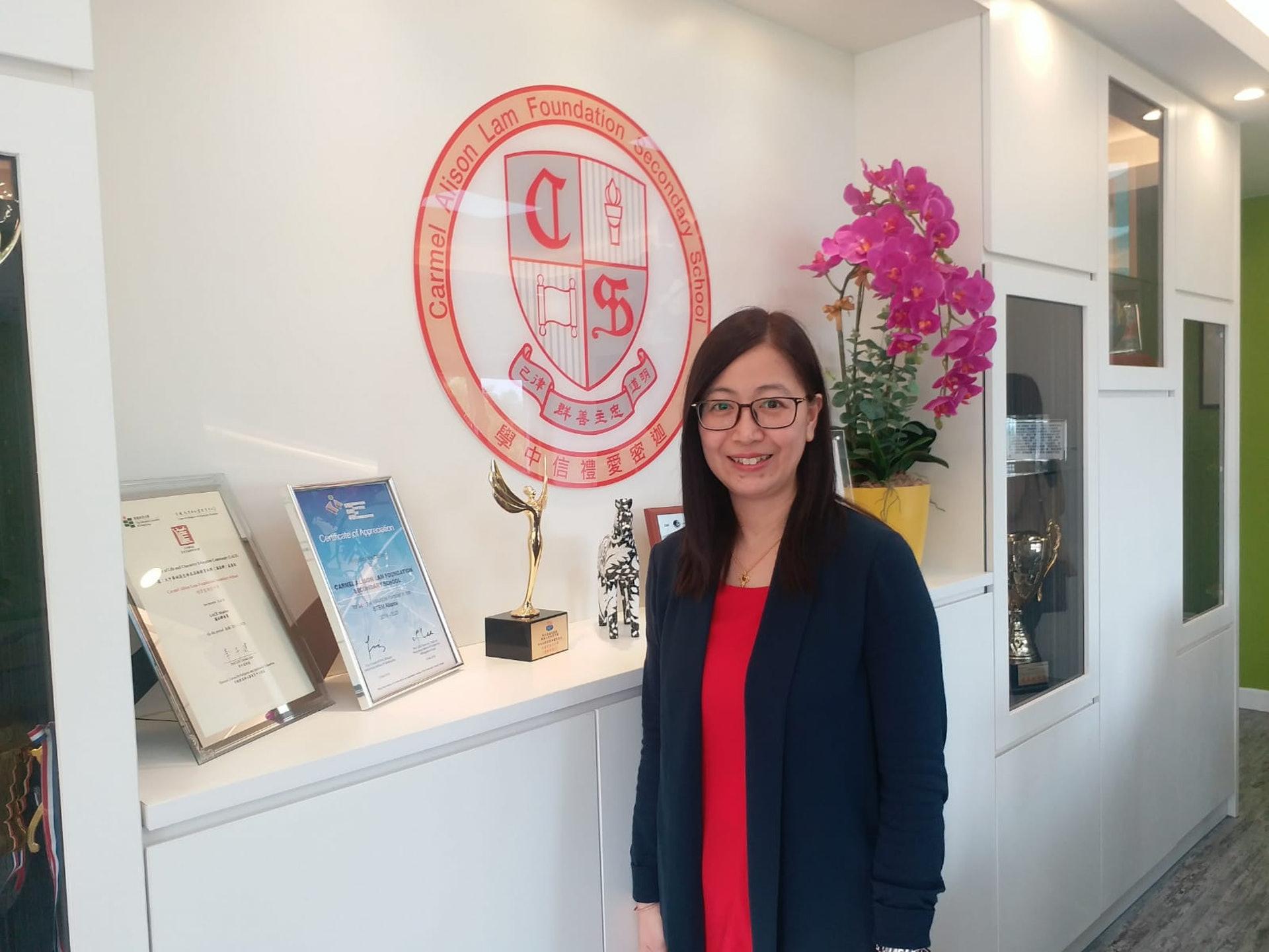 司徒美燕踏足教育界逾20年,她指老師應是學生同路人。(侯彩琳摄)