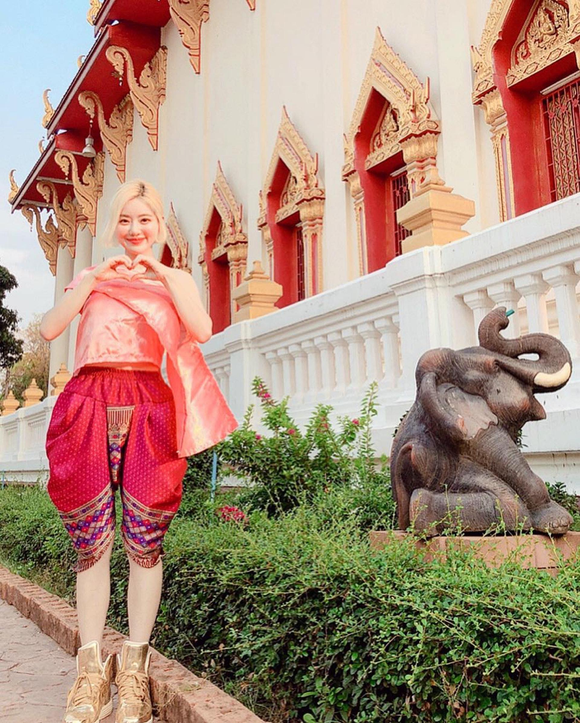 一年一度的潑水節,DJ Soda又到泰國當地打碟兼玩水。(IG圖片)