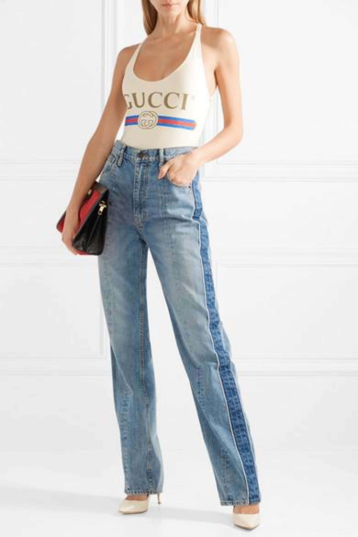 Gucci 一件頭泳衣(網上圖片)