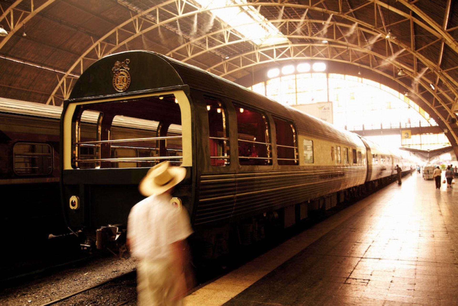 亞洲東方快車比照百年名牌的絕高水準,以五星級旅館等級打造。(世界高級品提供)