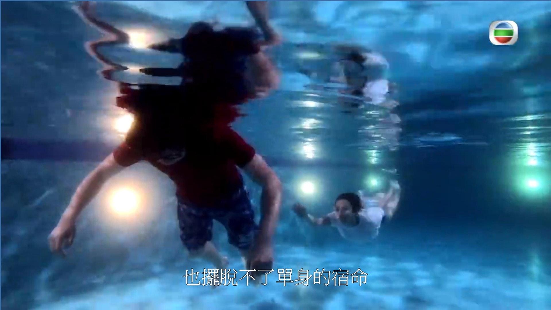 對於網民的讚賞,何泳芍:咁多女神都唔輪到我啦。(電視截圖)