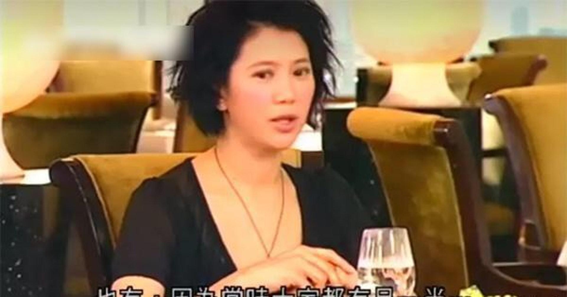 靚靚曾在《志雲飯局》中承認做過小三。(娛樂有點閒微博圖片)