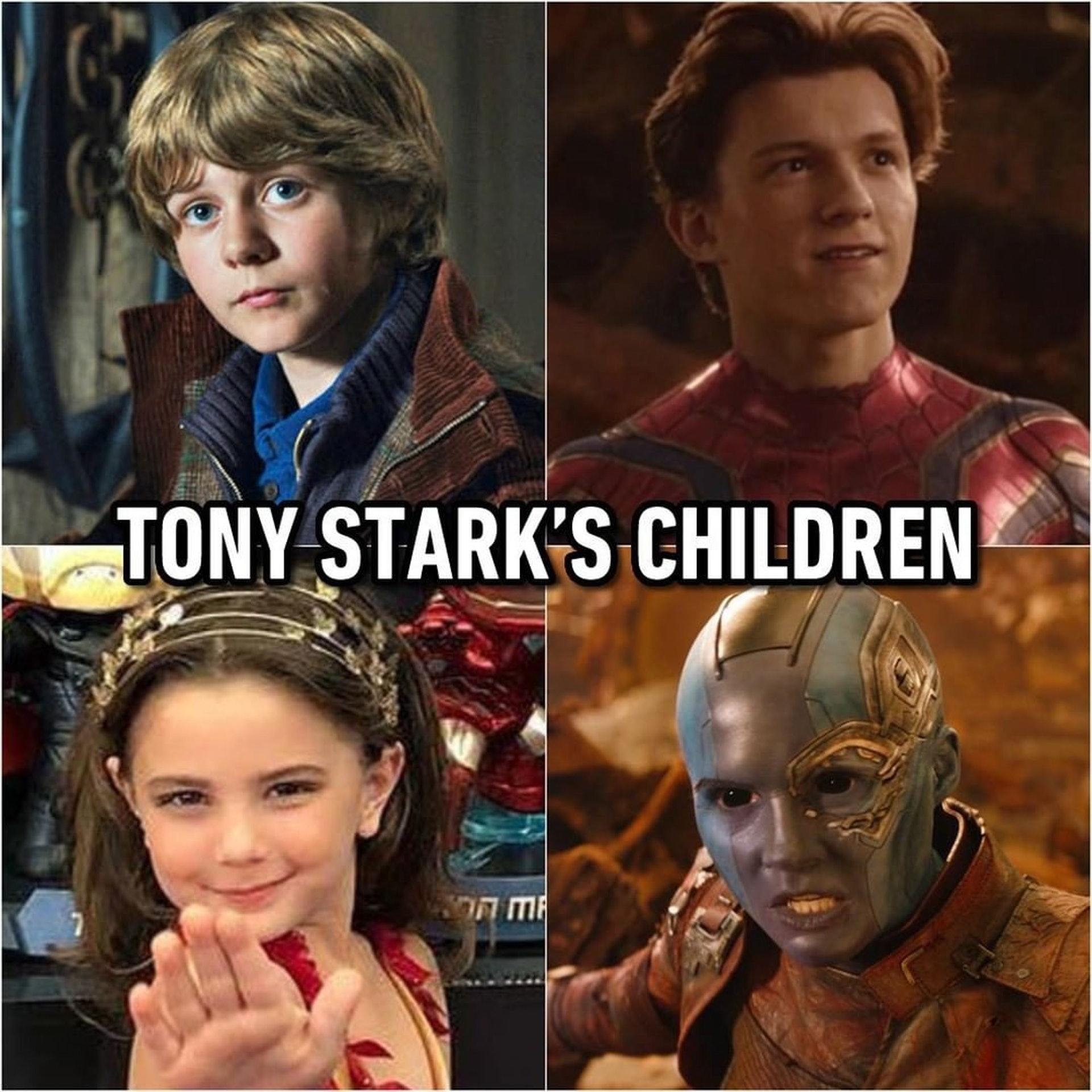 有網民指,其實「鐵甲奇俠」有4個孩子?(IG 相片)