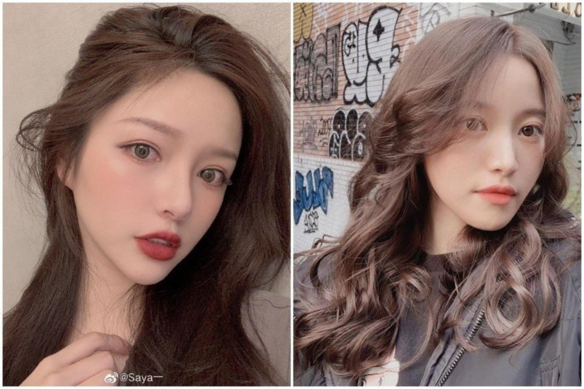 左:內地網紅Saya微博圖片;右:台灣網紅蔡瑞雪IG圖片
