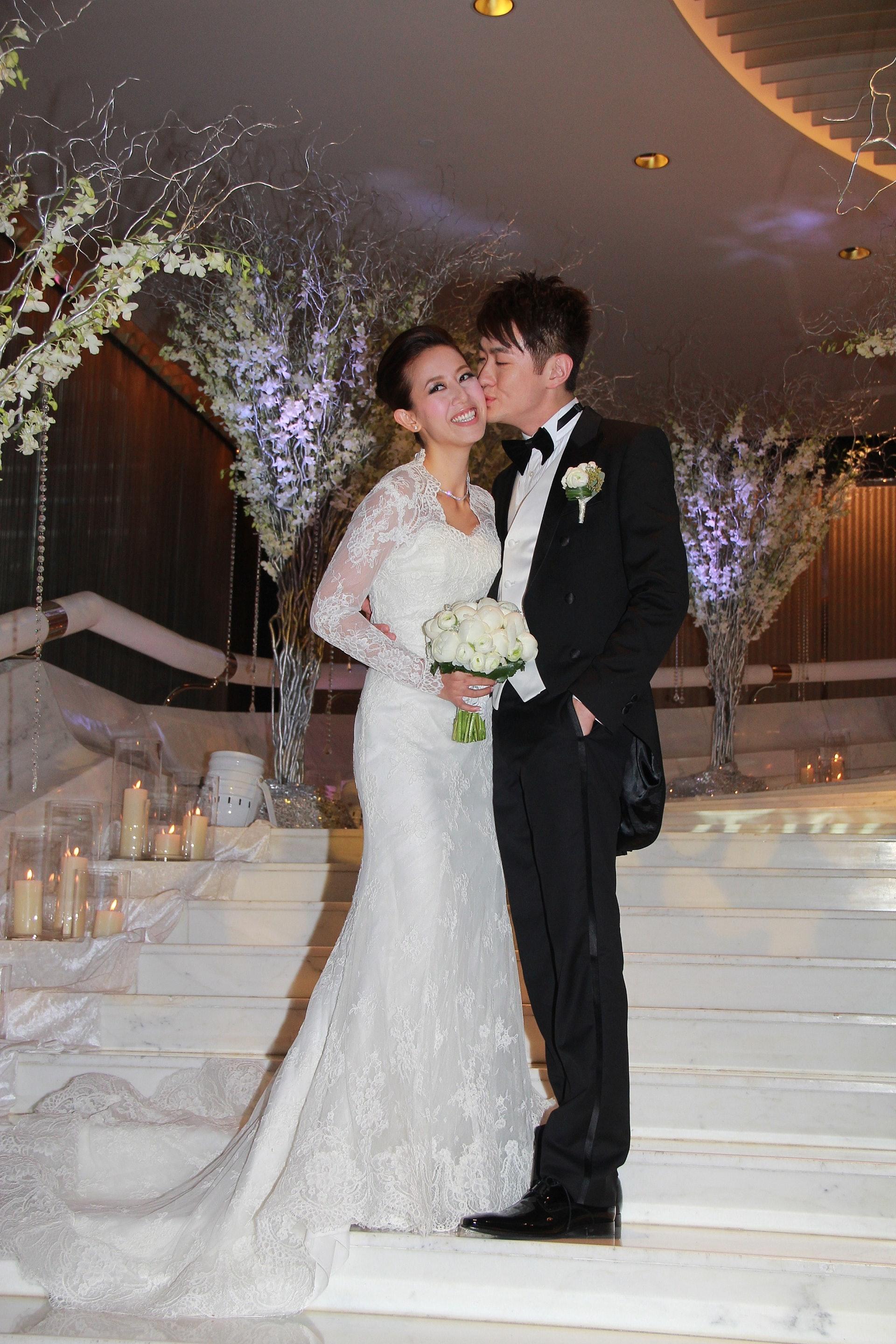 Toby在2011年曾與黃敏豪結婚。(VCG)