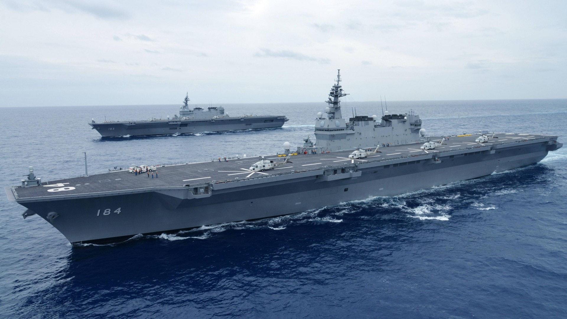 特朗普登日本護衛艦加賀號改裝後可搭載f 35戰機 香港01 即時國際