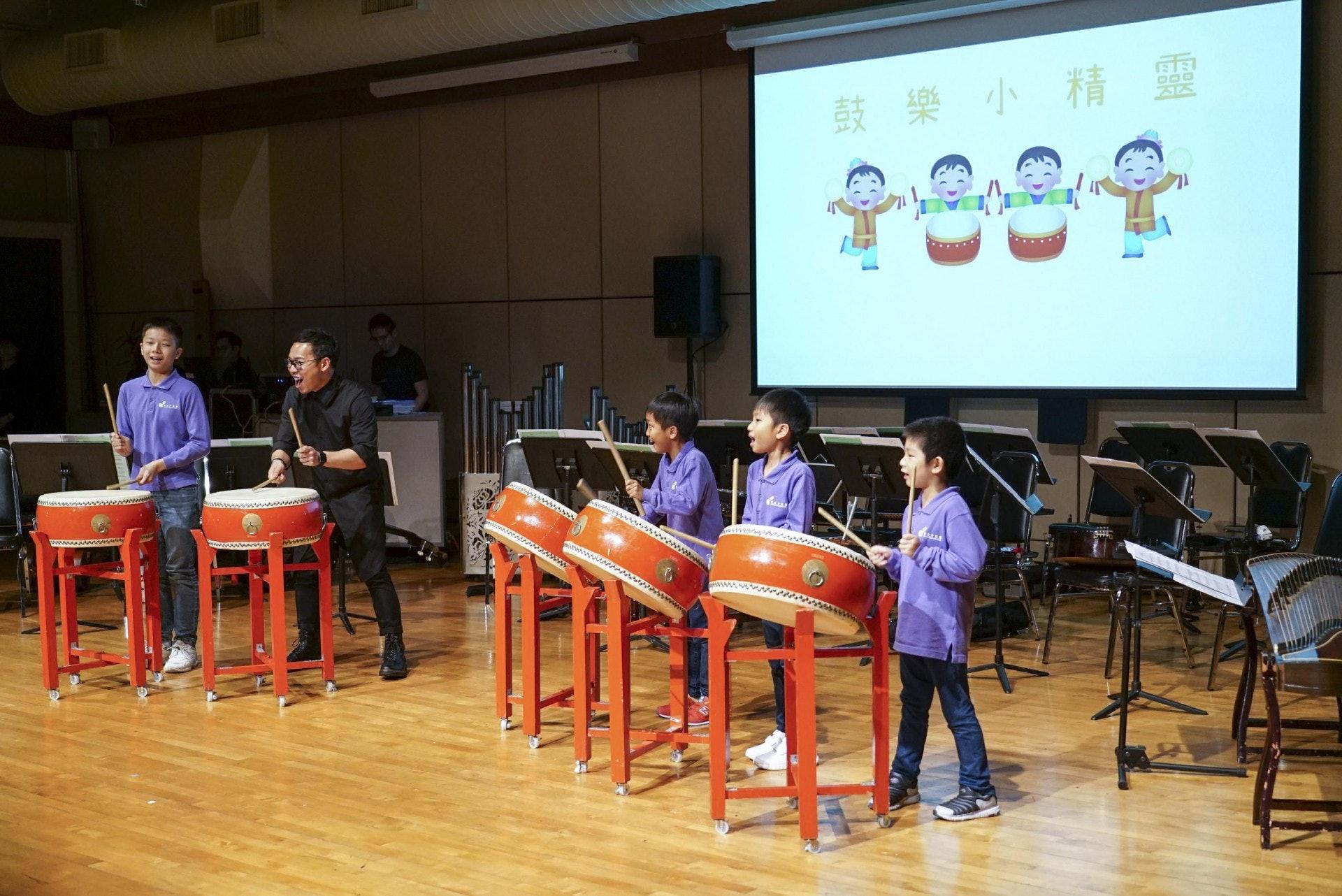 家裏有小孩子,不管是子女或是孫兒,應該留意下次節目預告,帶他們去上環文娛中心的親子音樂會,認識中華文化之餘,又可以讓他們有一個啟發潛能的機會。(作者提供)