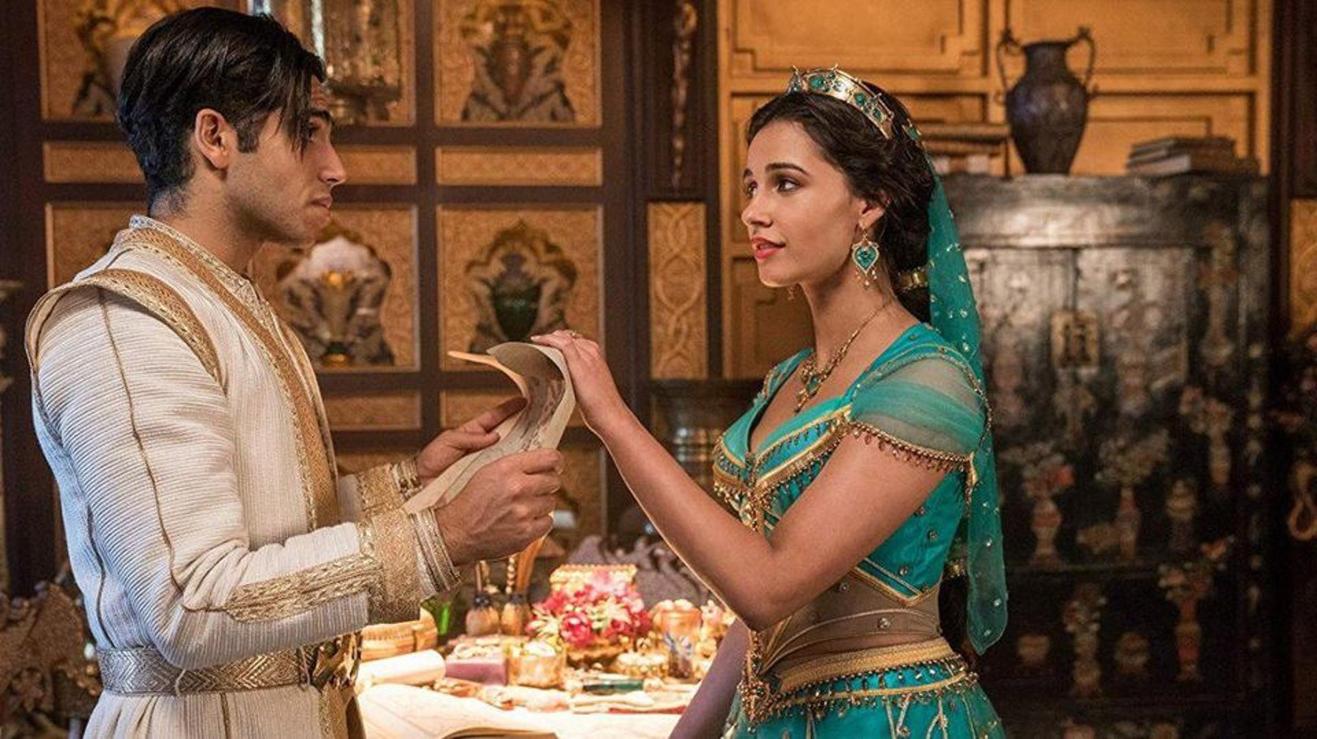 茉莉公主勇敢追愛的心有別於傳統公主(《阿拉丁》劇照)