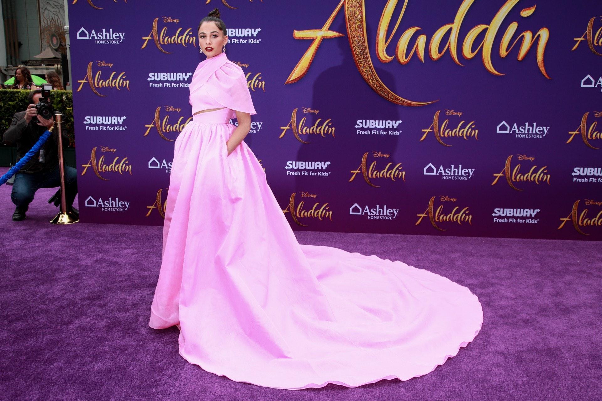 Naomi Scott 有著印度血統,把茉莉公主演繹得靈氣逼人(Getty Images)