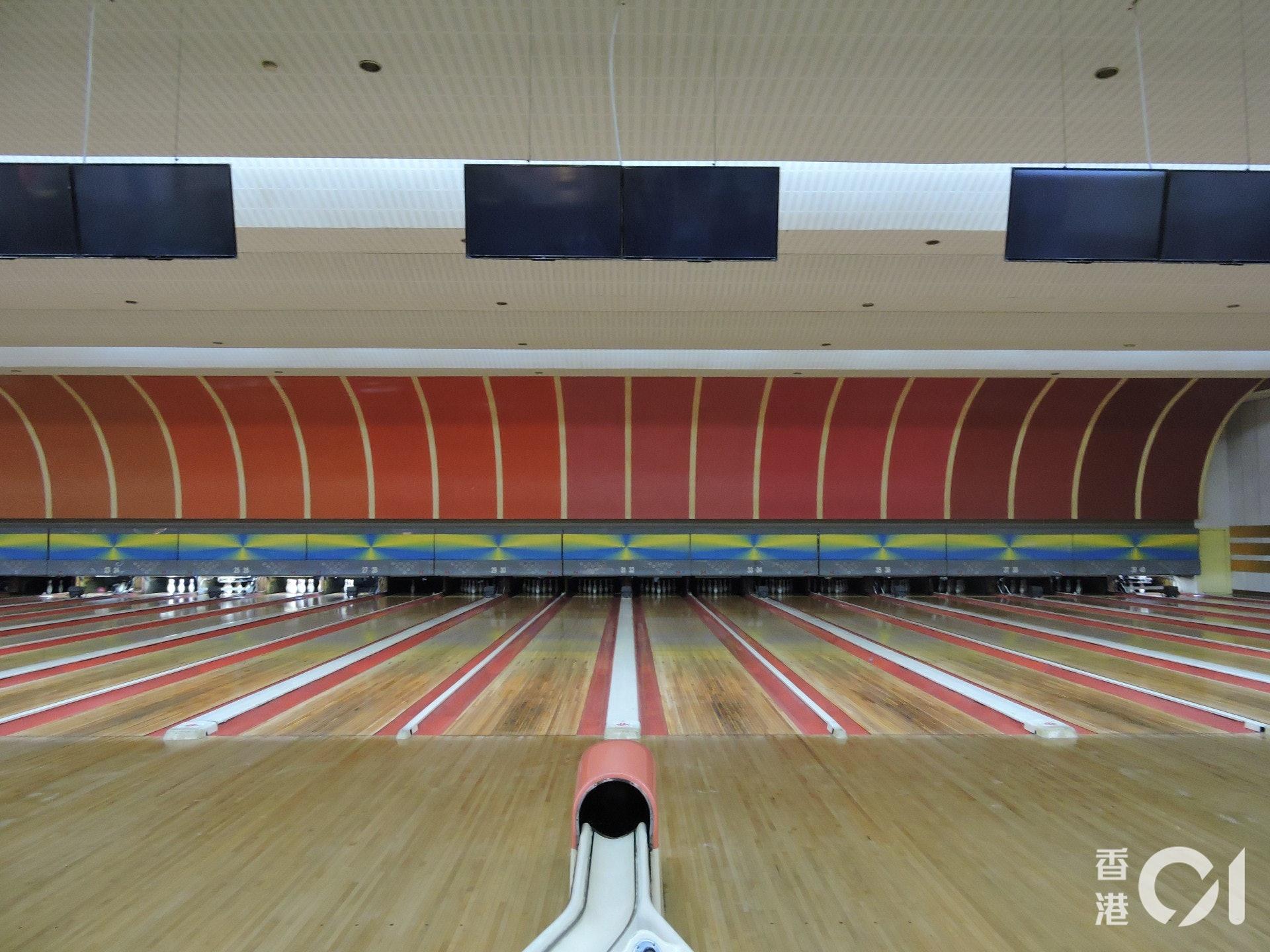 朝鮮也有現代化的保齡球場──資本主義下的娛樂活動。(歐陽翠詩攝)