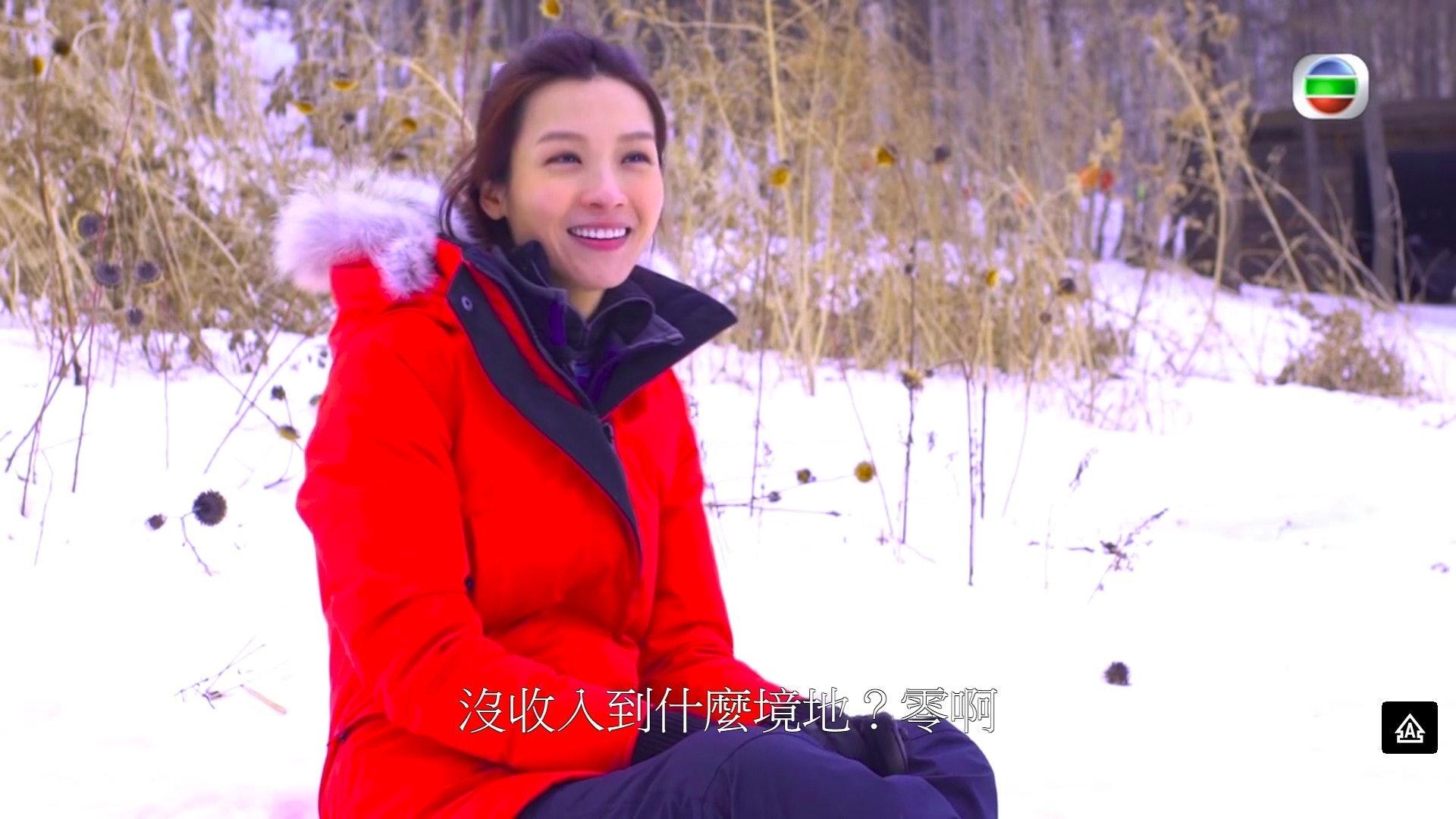 回望過去6年嘅演員日子,李佳芯甚為感觸。(影片截圖)