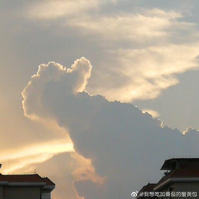 雲 今日 地震