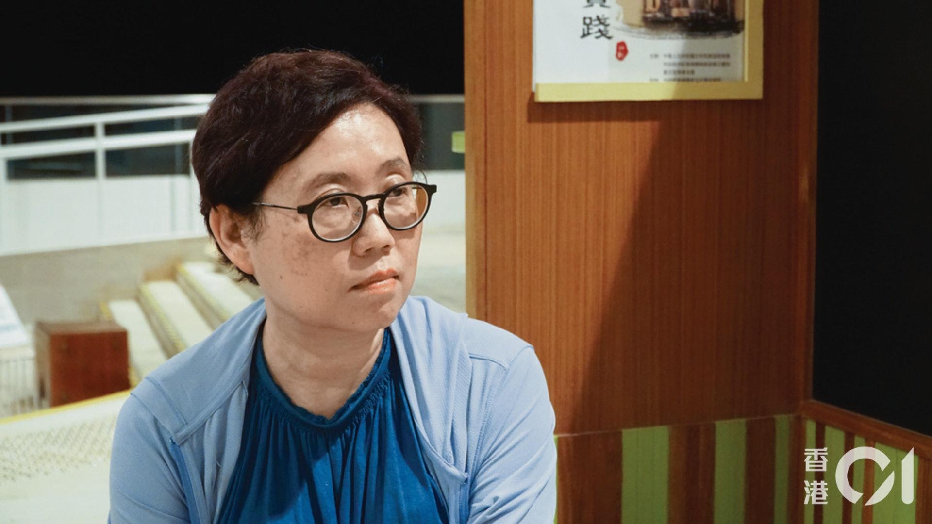 藍宇喬感嘆說,由林鄭出任社署署長開始,社福界早已對她的施政沒有期望。(李耀宗攝)