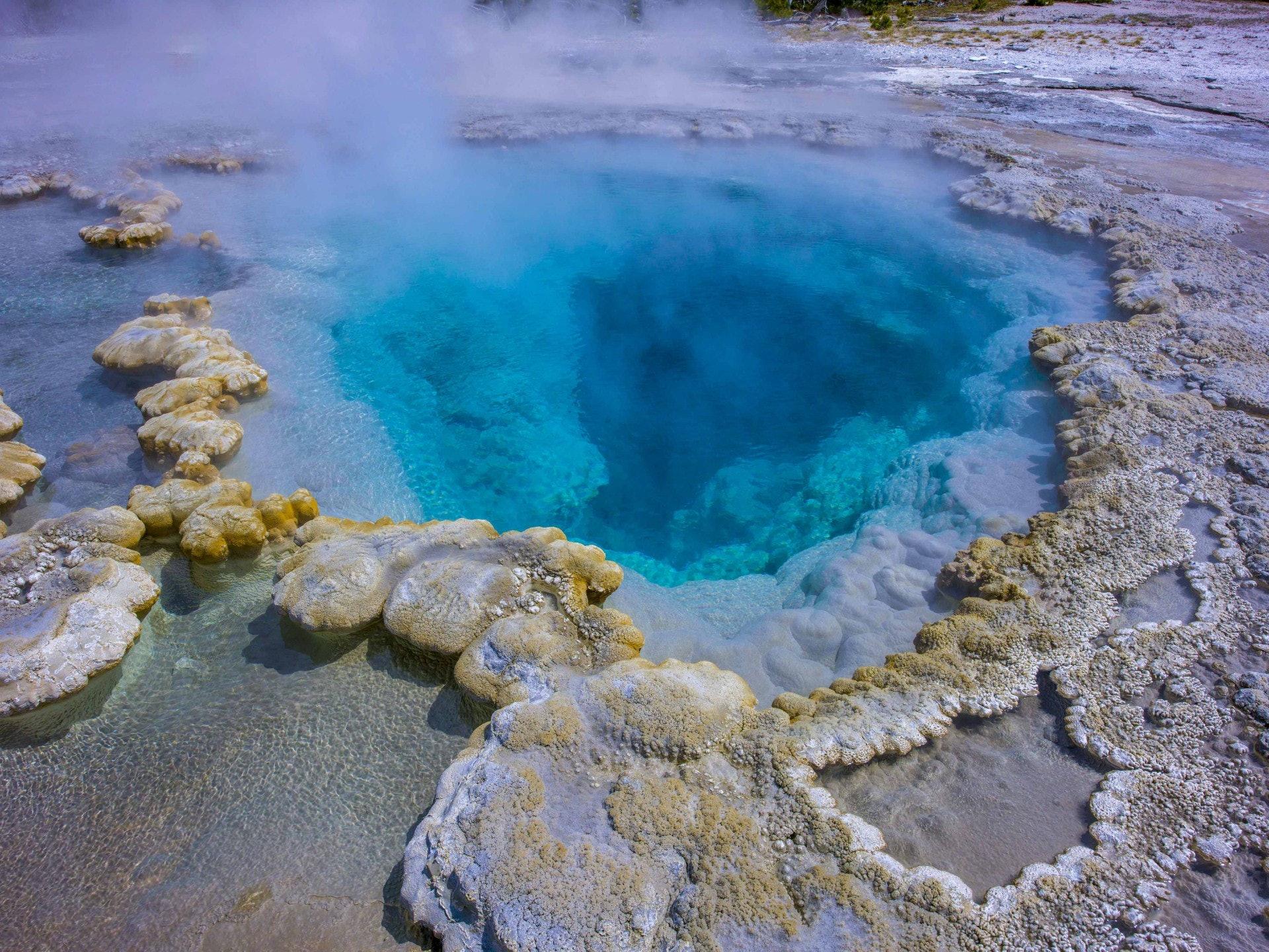 黃石火山是目前全球唯一活躍的超級火山。(路透社)