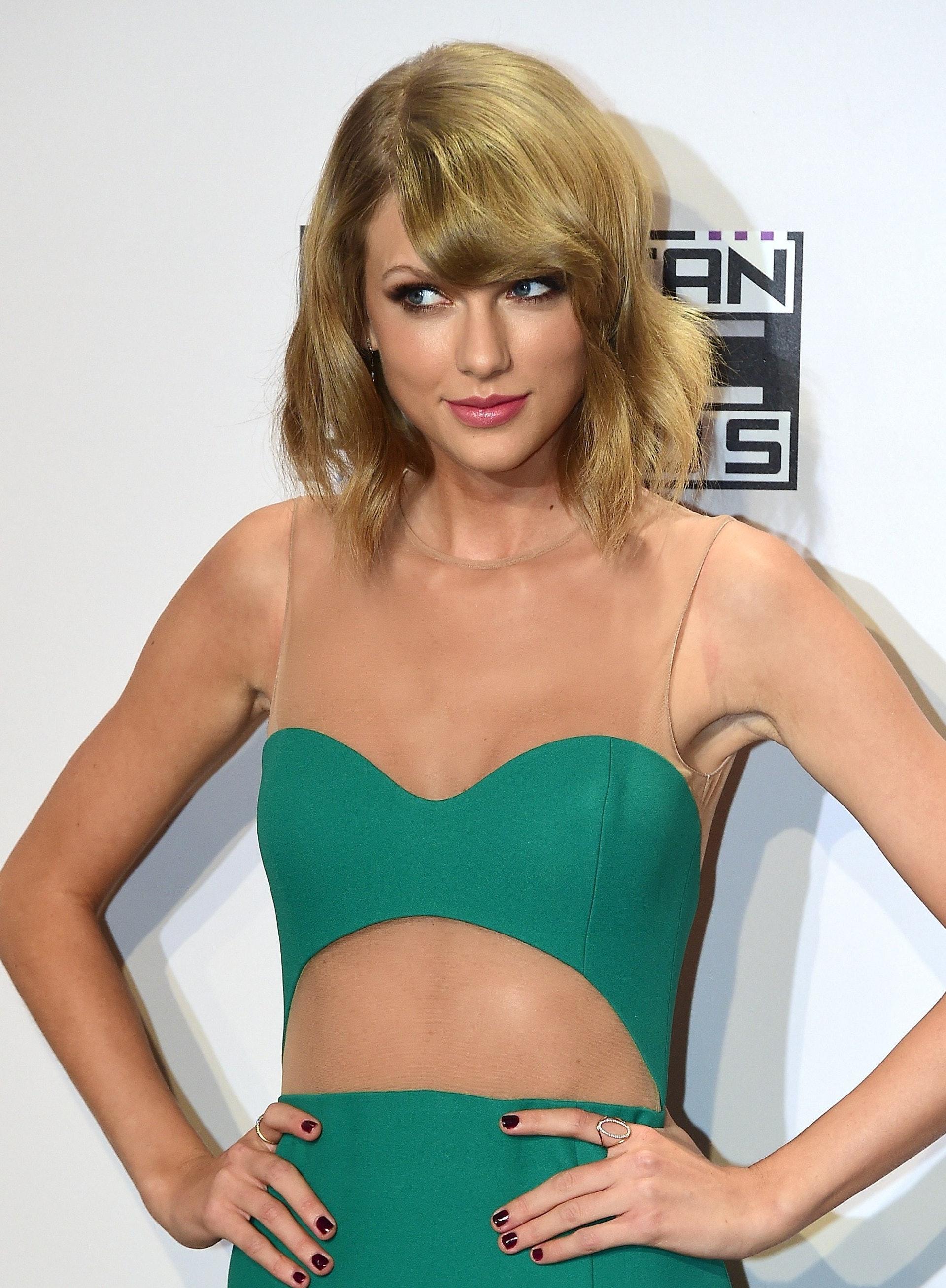 她的身材很令人羡慕。(Getty Images)