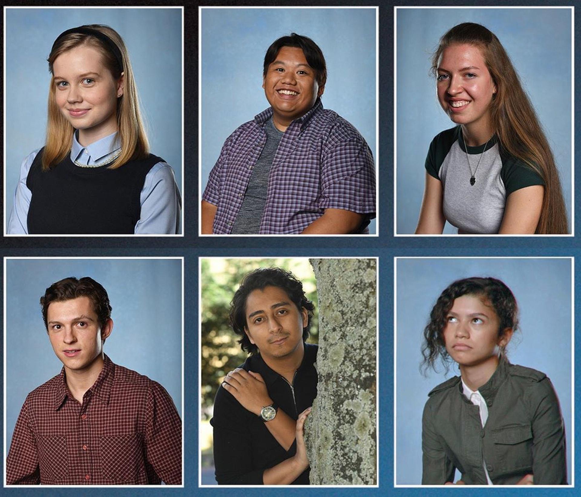 導演Jon Watts早前在IG貼出同學們的畢業照,單靠睇相已經大概了解到幾位同學的性格。(Jon Watts/IG相片)