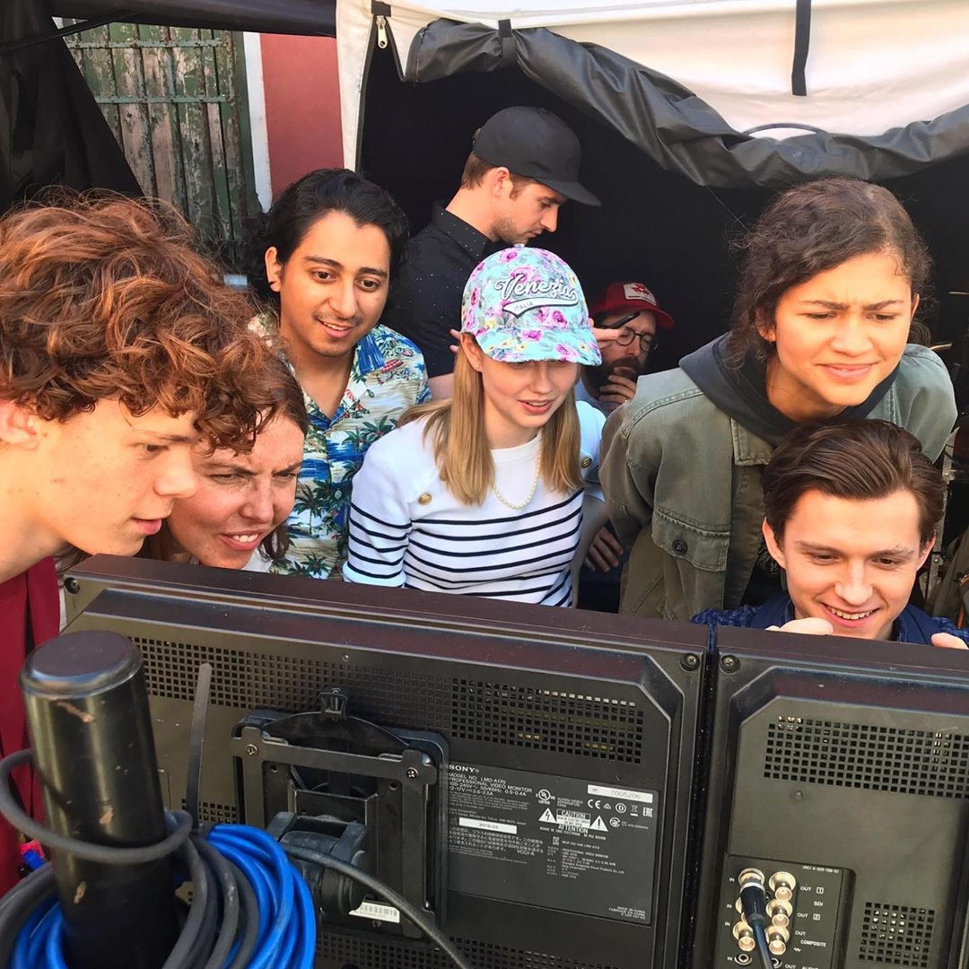Remy表示很開心這次能參與《蜘蛛俠:決戰千里》,也因此認識了一班好友。(Jon Watts/IG相片)