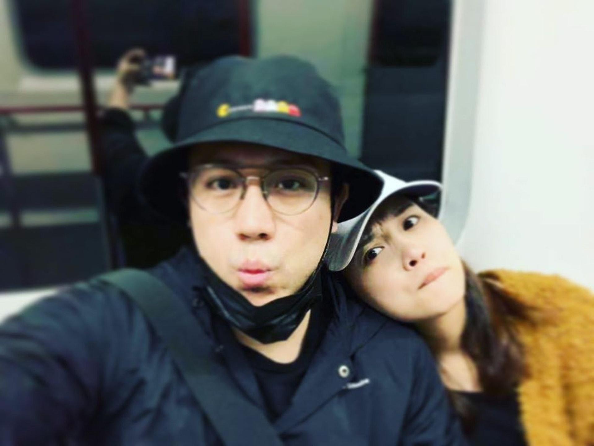 張致恆(Steven)宣佈即將結婚和已成為人父的消息,但對象並不是正印女朋友April,疑似出軌。(stevencheung@Instagram)