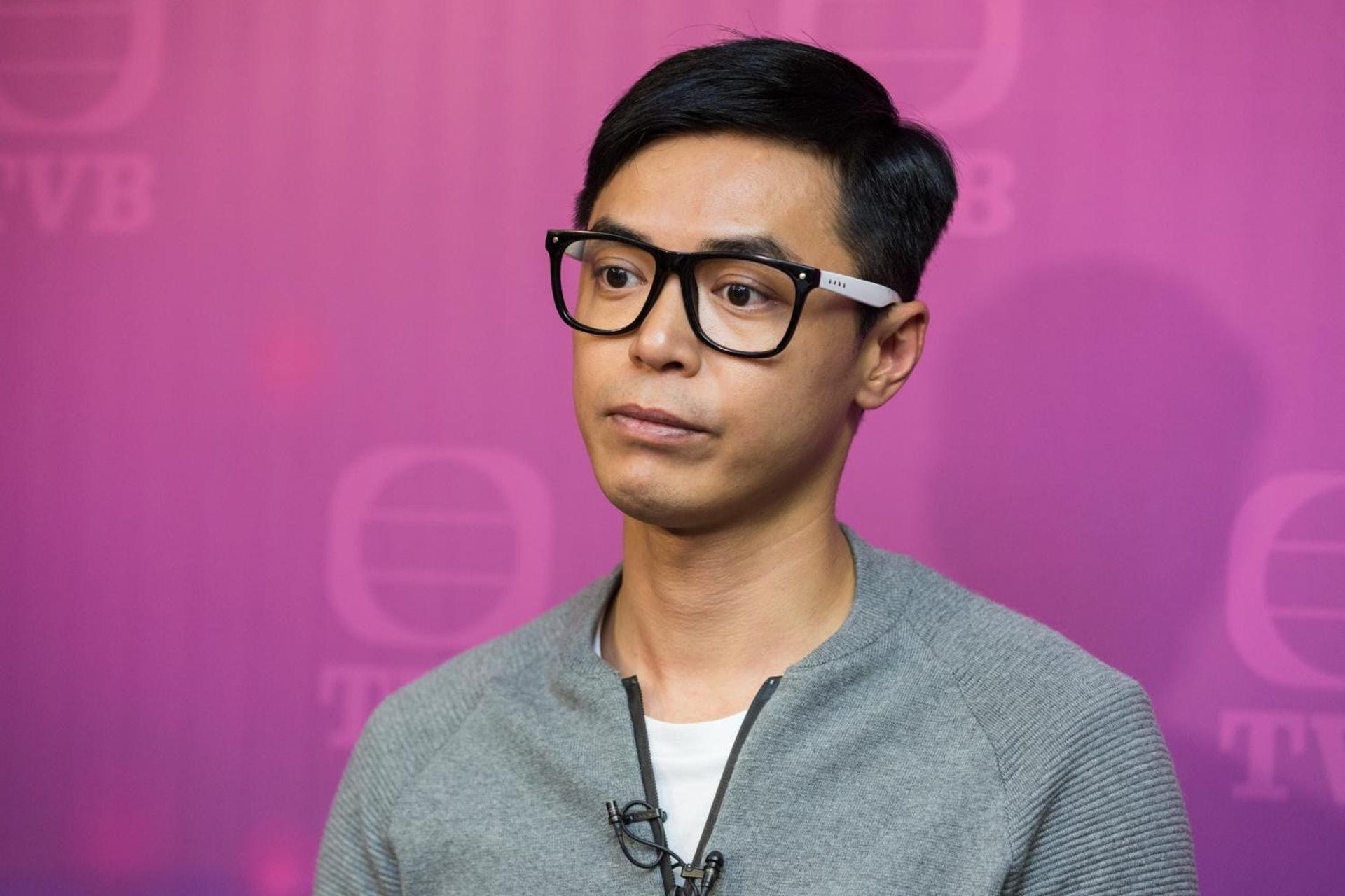 前《東張西望》主持李潤庭,於2016年12月被發現背空姐太太偷食,後被公司雪藏後再犯,現已離開TVB。(資料圖片)