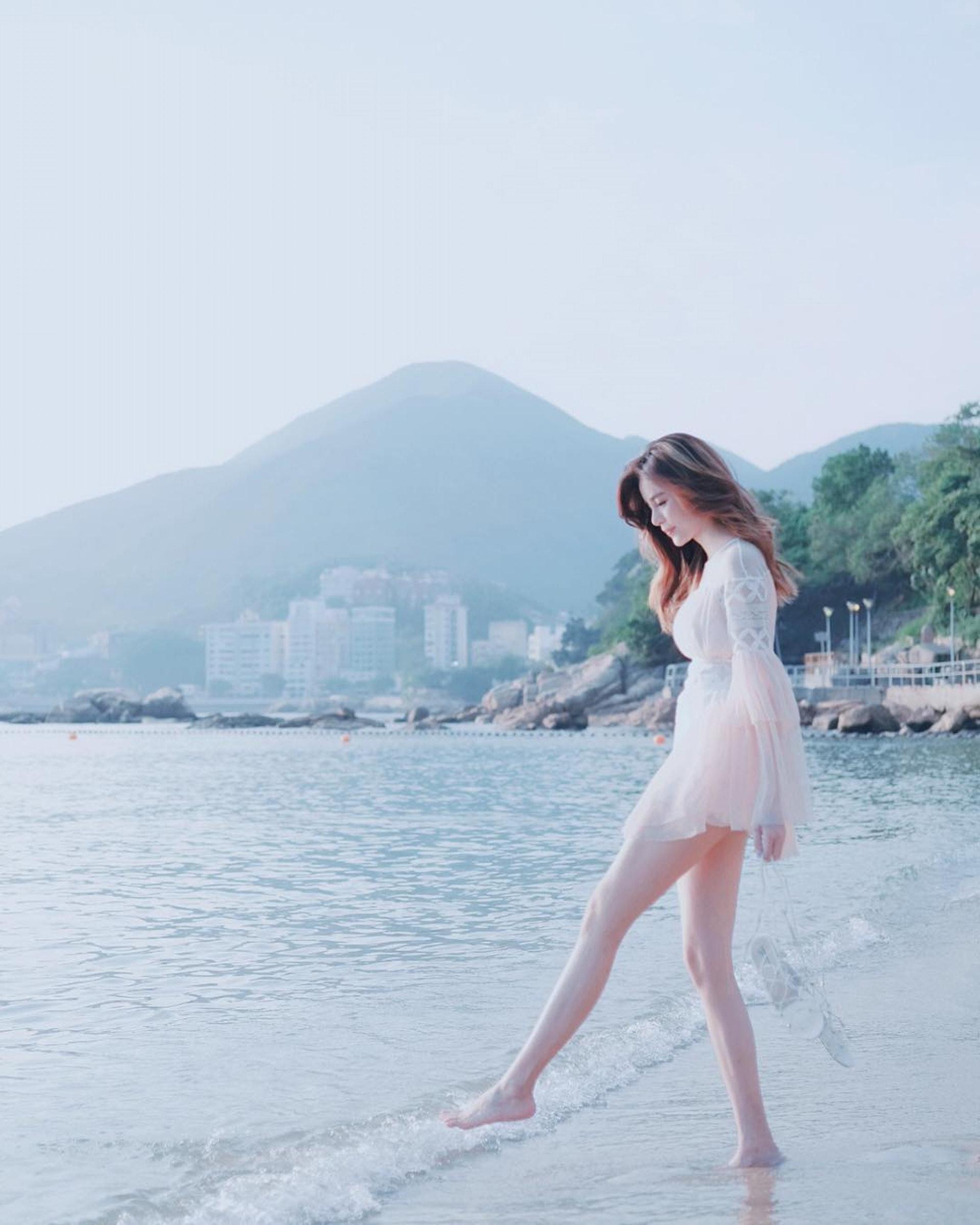 長腿!(IG圖片/@kitling_chan)