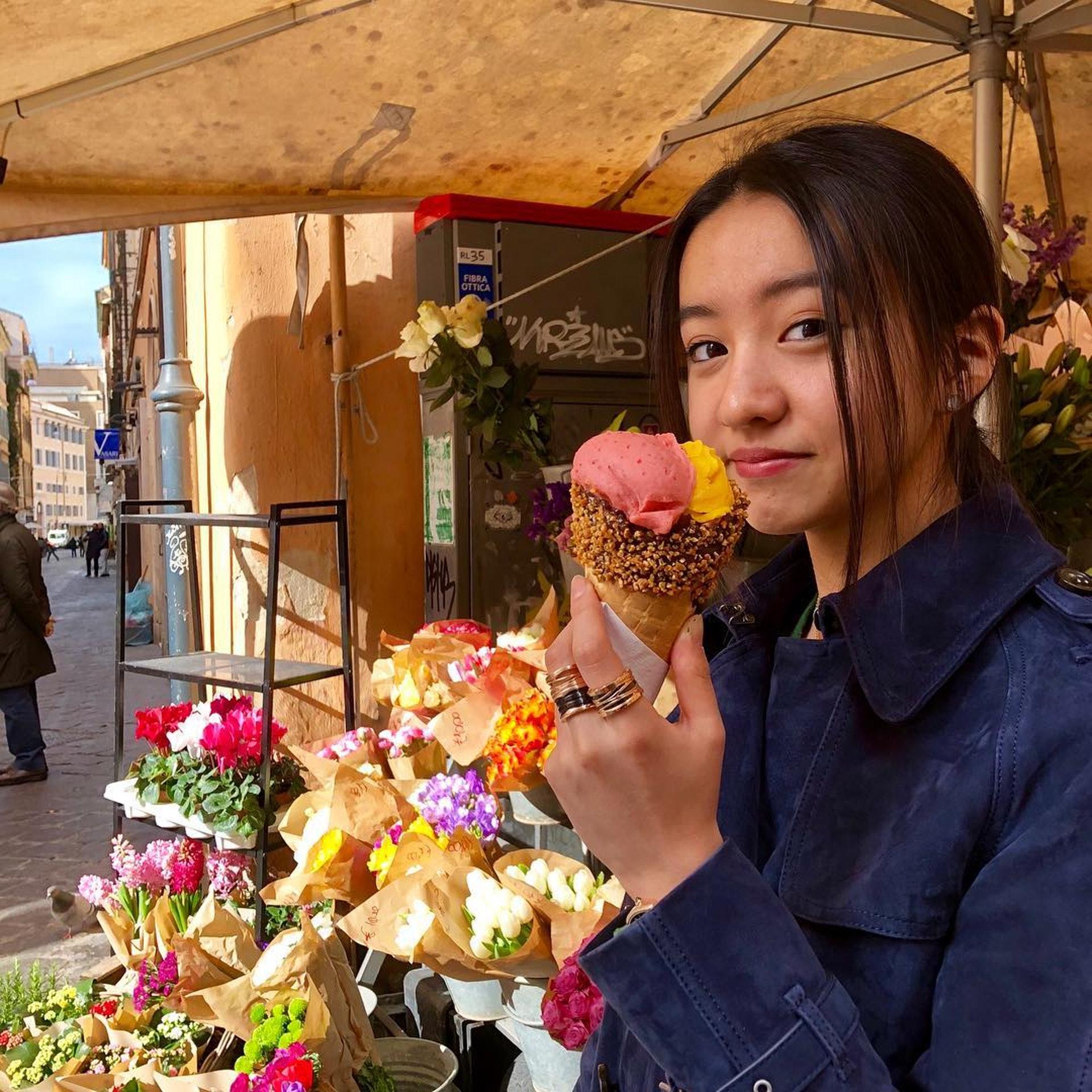 光希今年得16歲。(ig@koki圖片)