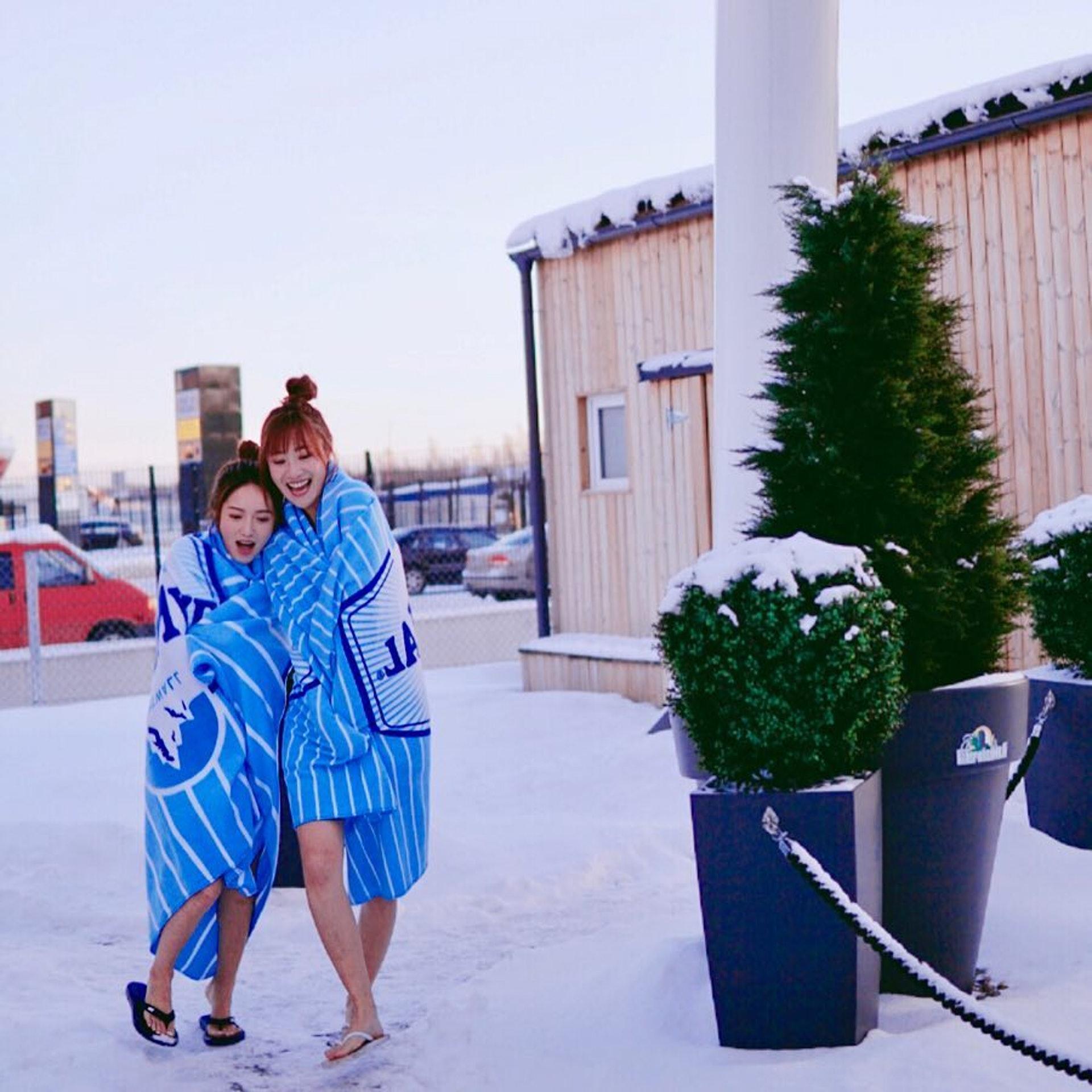朱智賢(Ashley)、鄺潔楹(Judy)兩位是《3日2》常客,不過合作出Trip就係第一次。(受訪者提供)