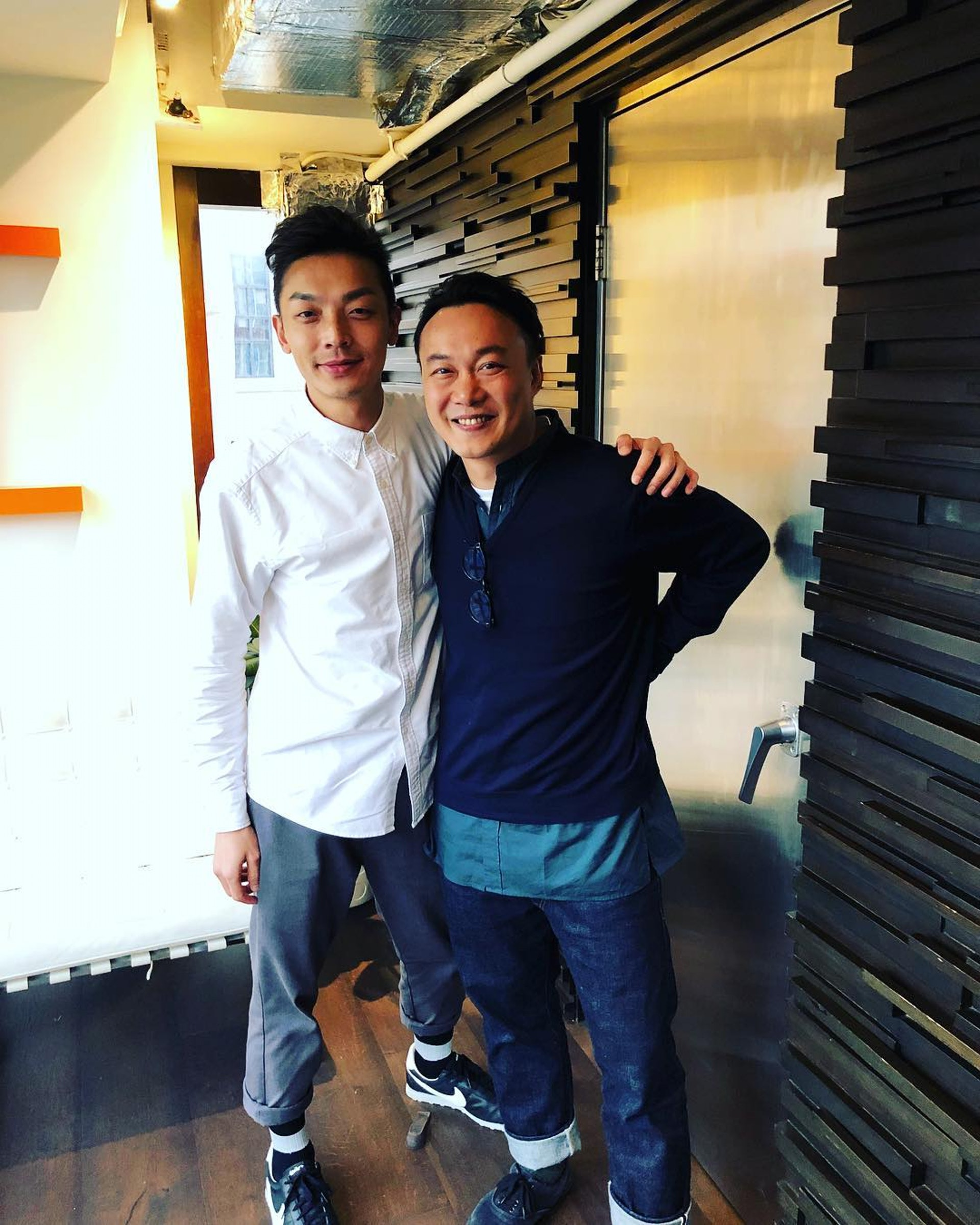 Gavin與陳奕迅合照。(Instagram:@gso)