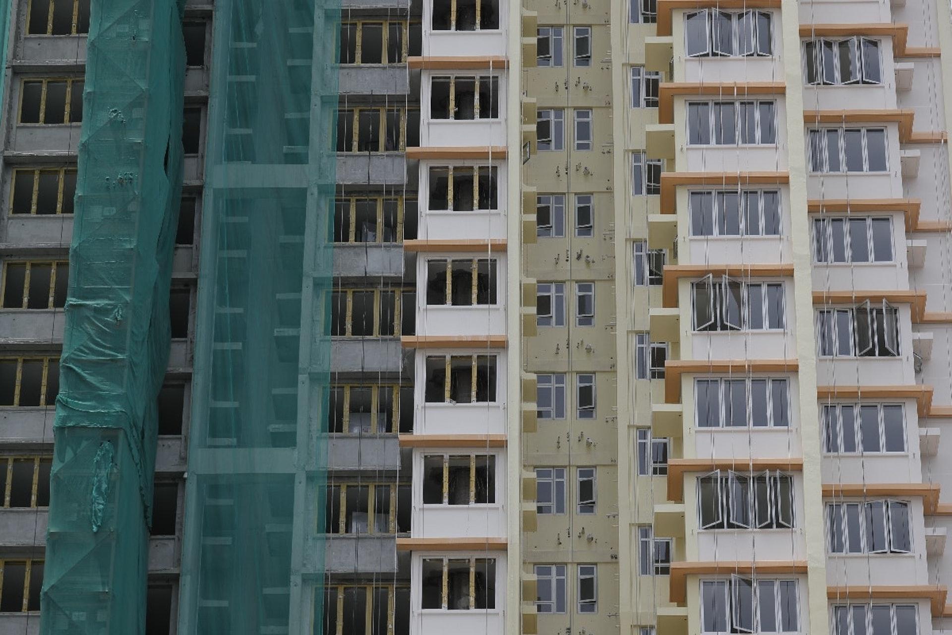 景泰苑是首批推出市面的綠置居單位。(資料圖片)