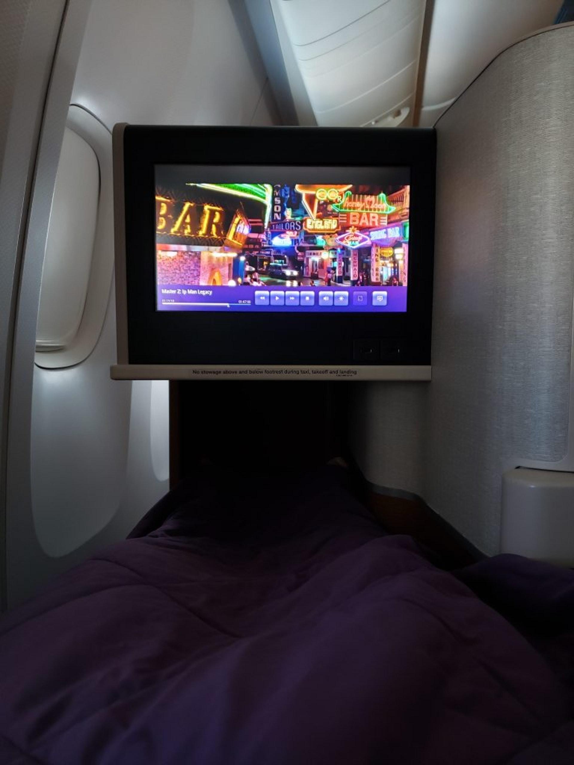 躺著搭飛機,無論何時都應該感恩(TripPlus授權使用)