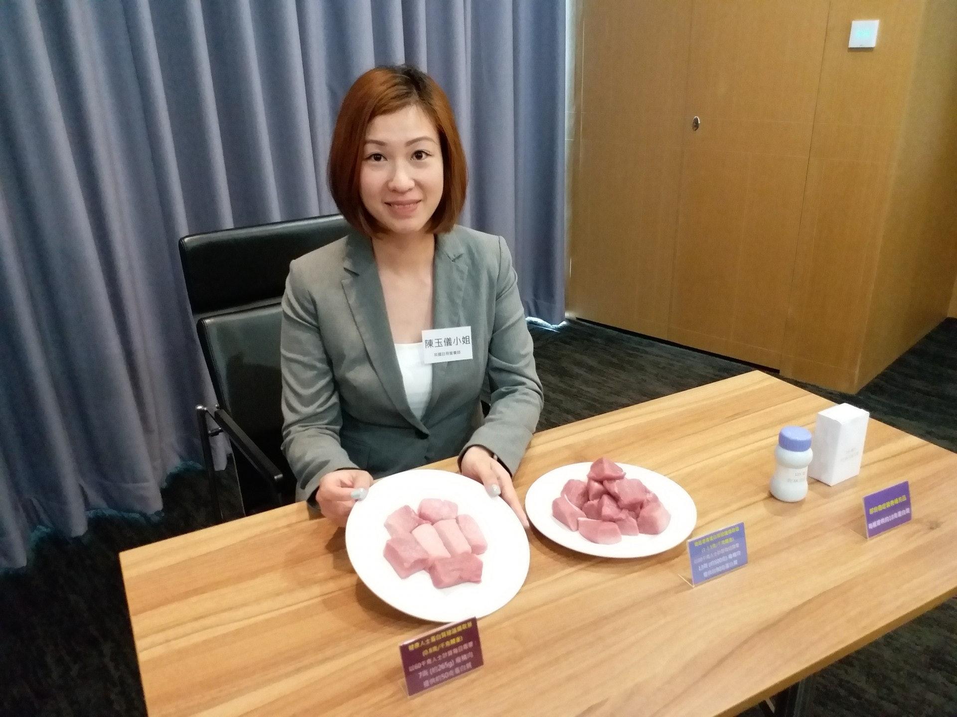 英國註冊營養師陳玉儀指,營養不良對癌症患者的治療有負面影響。(侯彩琳攝)