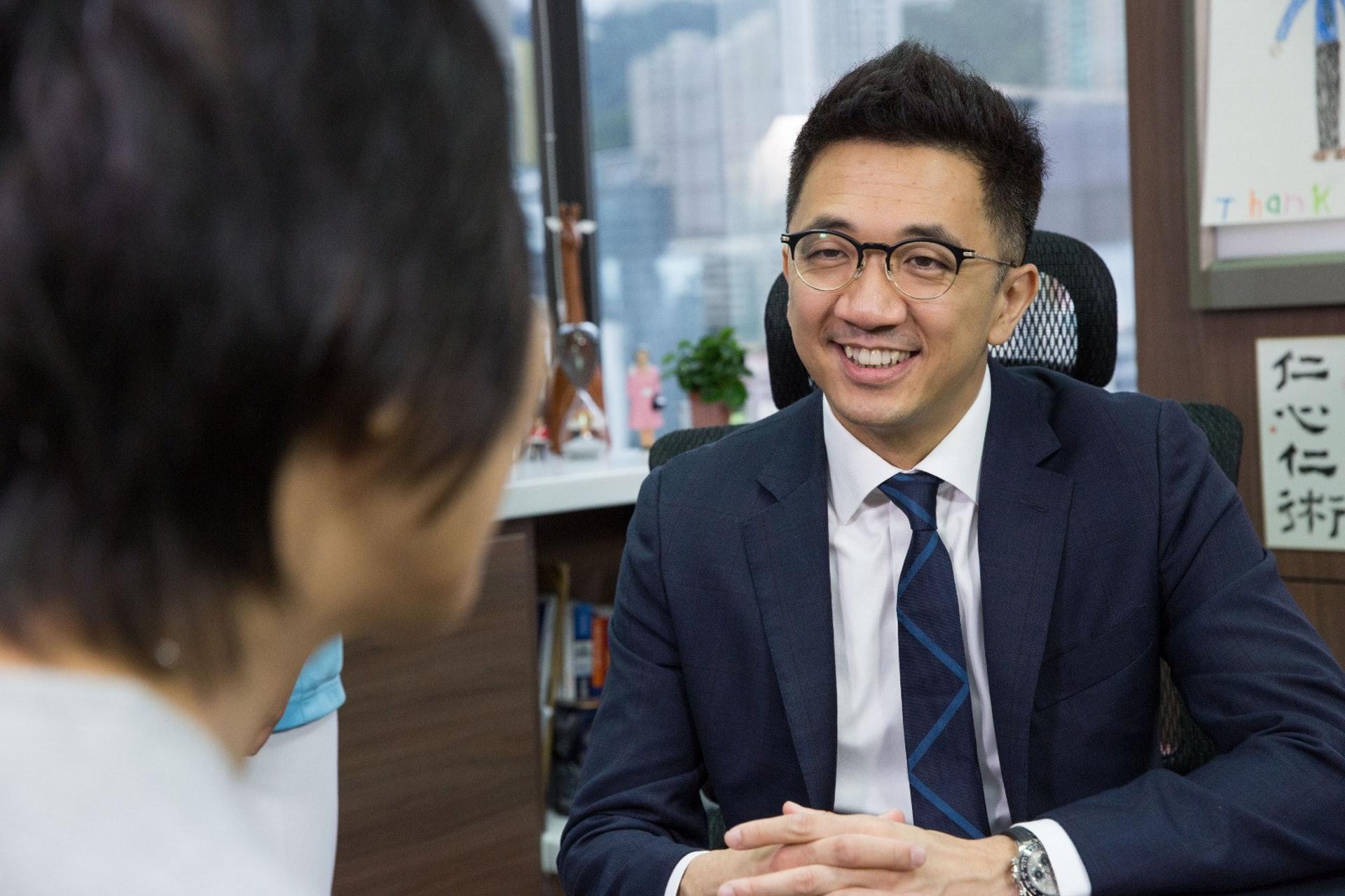 耳鼻喉科專科醫生陳鍵明。(撰稿人授權提供)