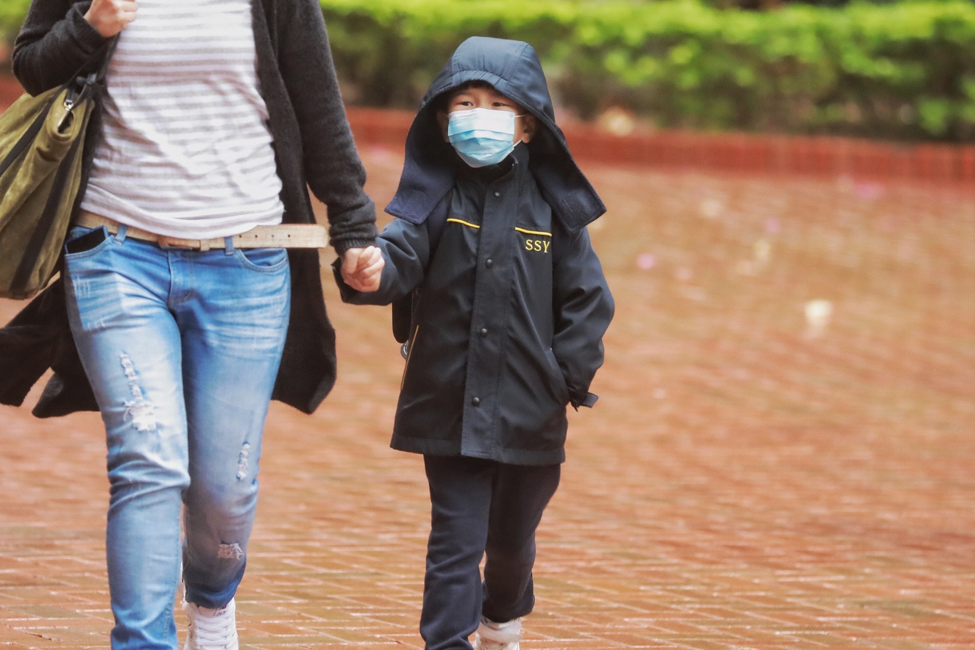 今年9月下旬已開始出現兒童感染甲型流感而入院的個案。﹙吳煒豪攝﹚