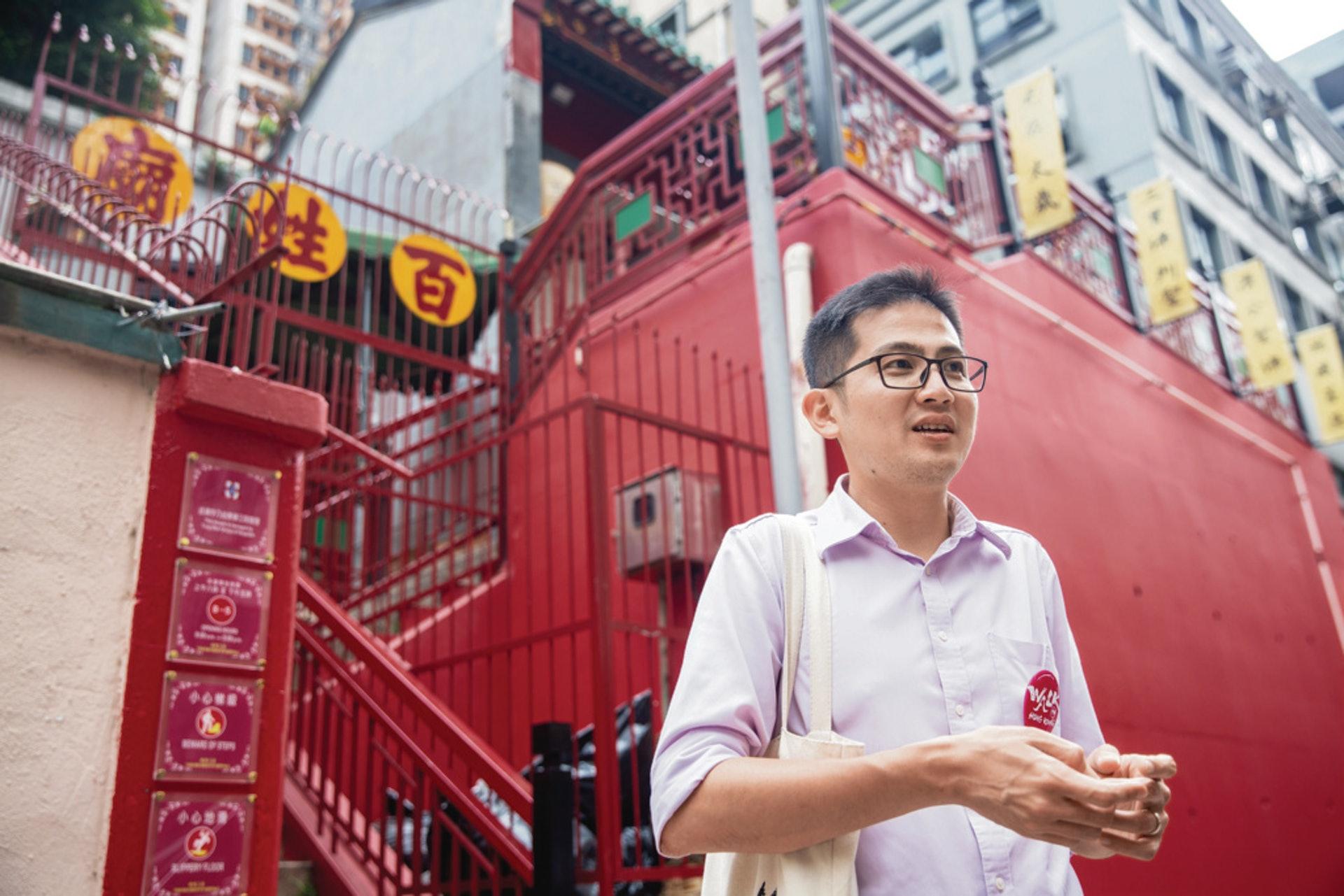 陳智遠認為,政府及旅遊業界可趁現時的情況作轉型,開拓多元化市場。(資料圖片 / 鄧倩螢攝)