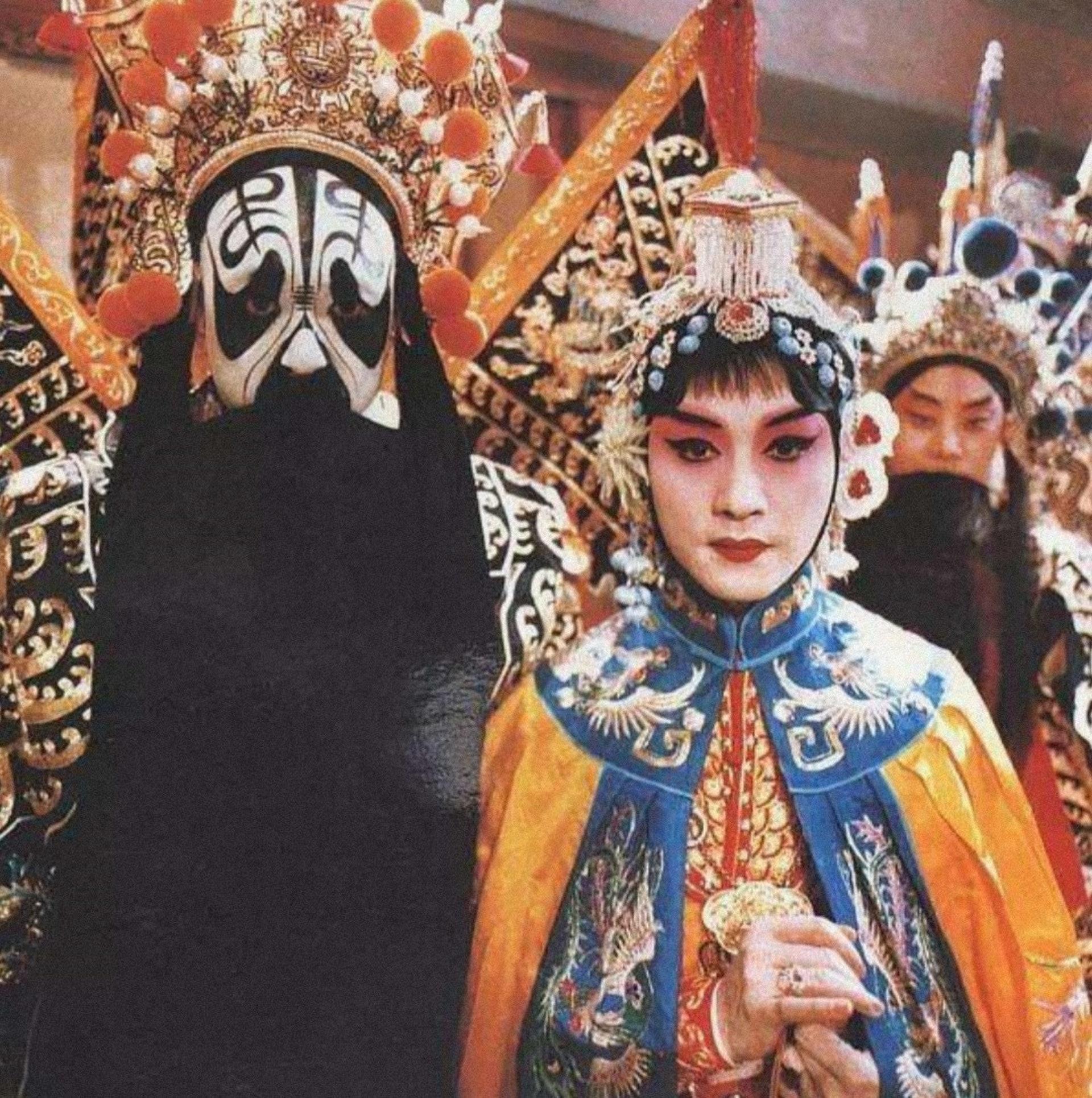 哥哥演出虞姬戲碼十分出色。(微博圖片)