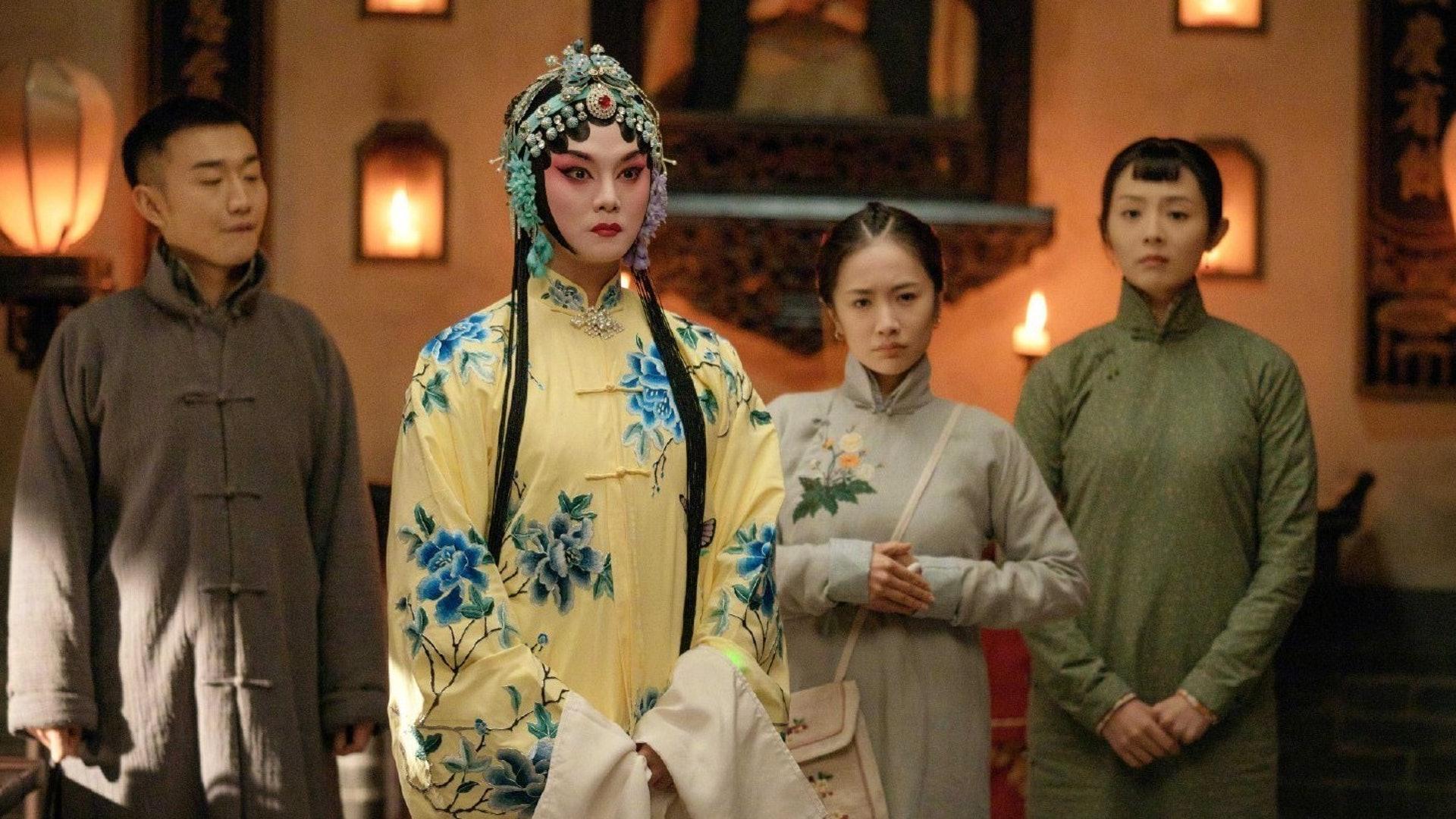 尹正在劇中同黃曉明有許多對手戲。(微博圖片)
