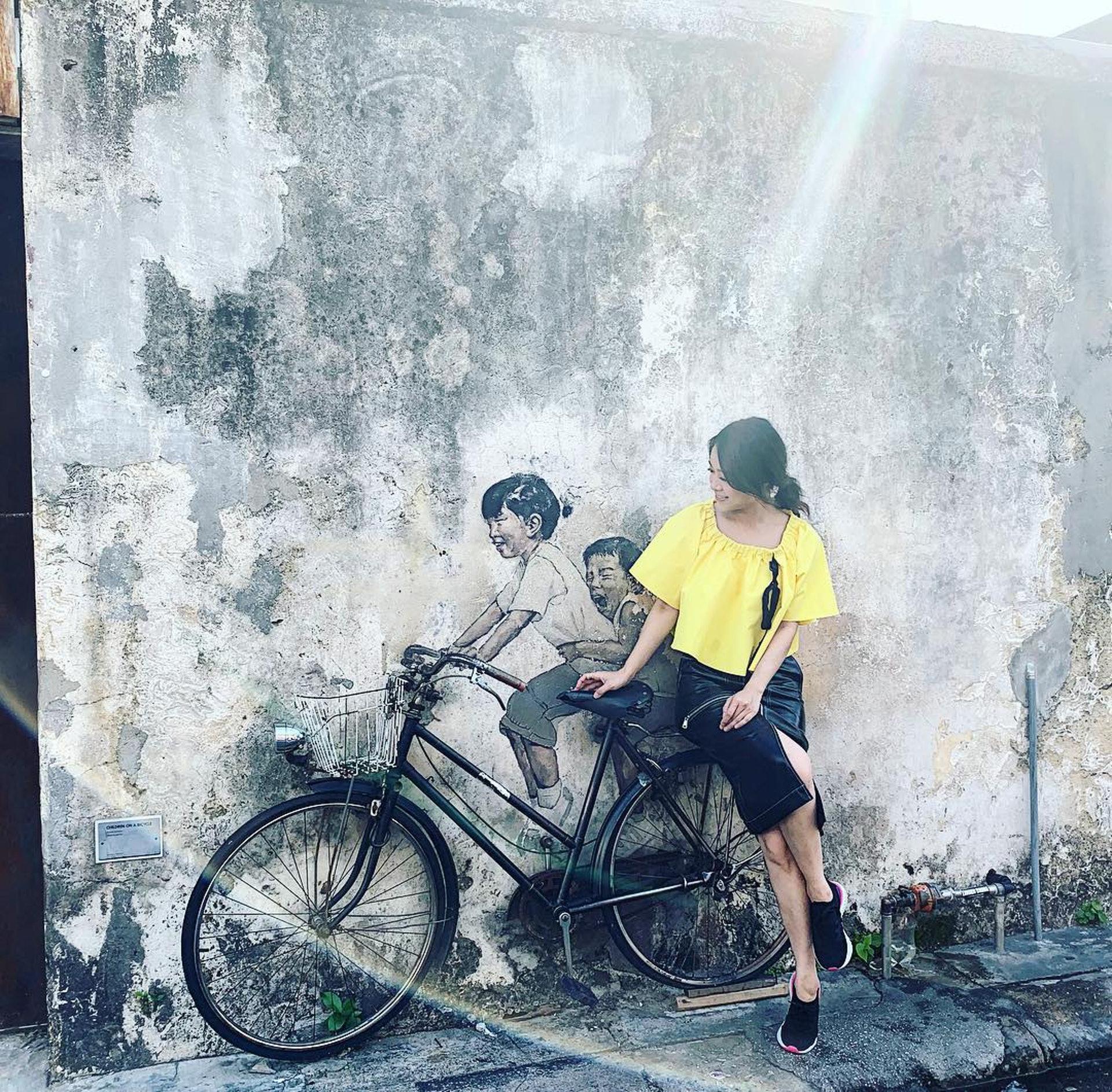 「安心事件」爆出前一日(4月15日),黃心穎仍有在Instagram分享在馬來西亞拍攝《懿想得到》的花絮相片。(Instagram/@jacquelinebwong)